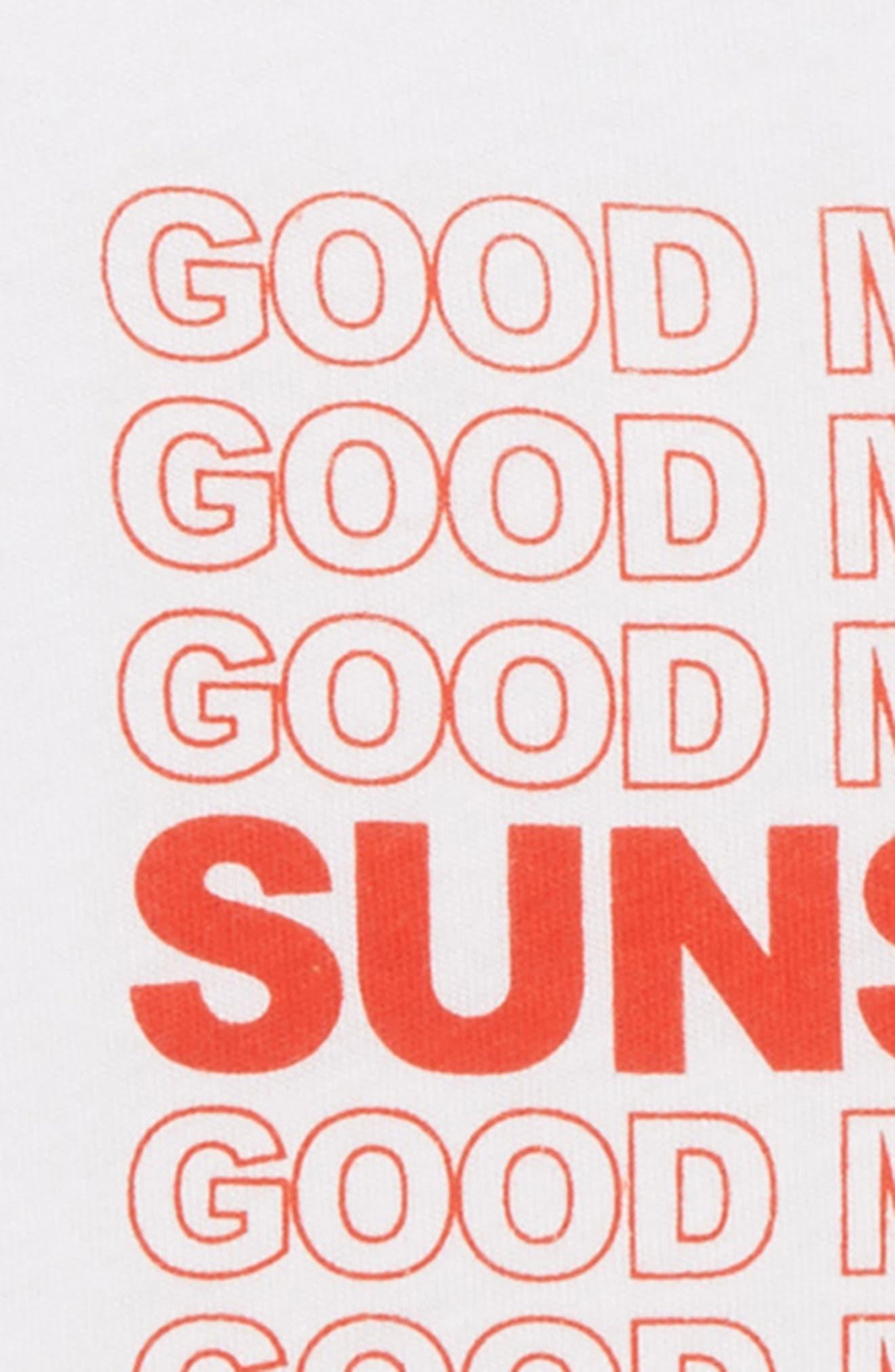 Good Morning Sunshine Tee,                             Alternate thumbnail 2, color,                             WHITE