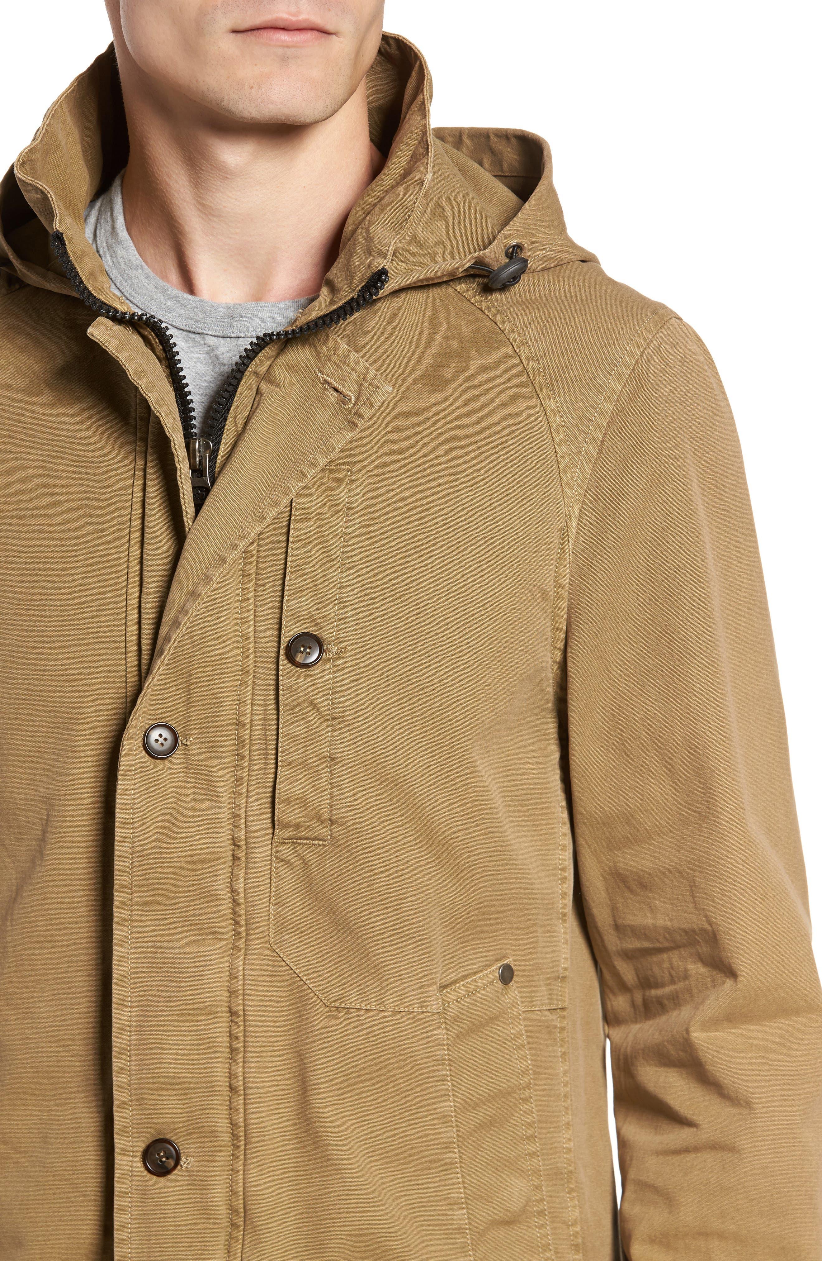 Herman Twill Hooded Jacket,                             Alternate thumbnail 4, color,                             250