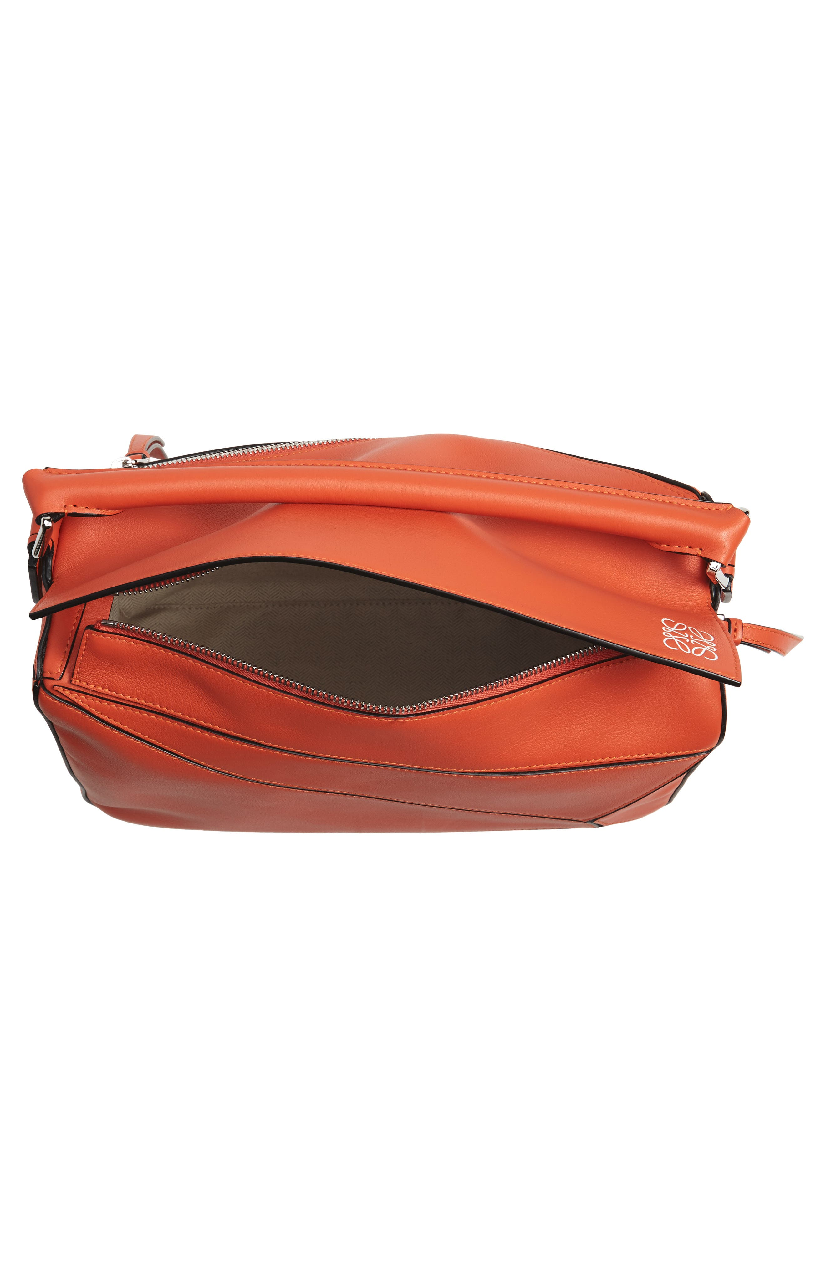 'Small Puzzle' Calfskin Leather Bag,                             Alternate thumbnail 33, color,