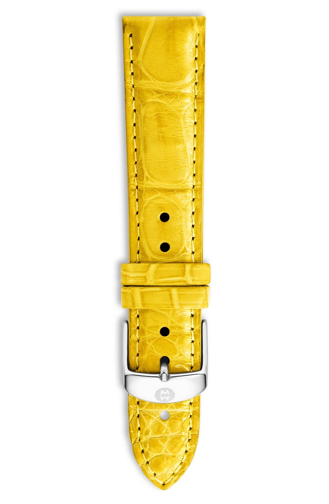 18mm Alligator Watch Strap,                             Main thumbnail 24, color,