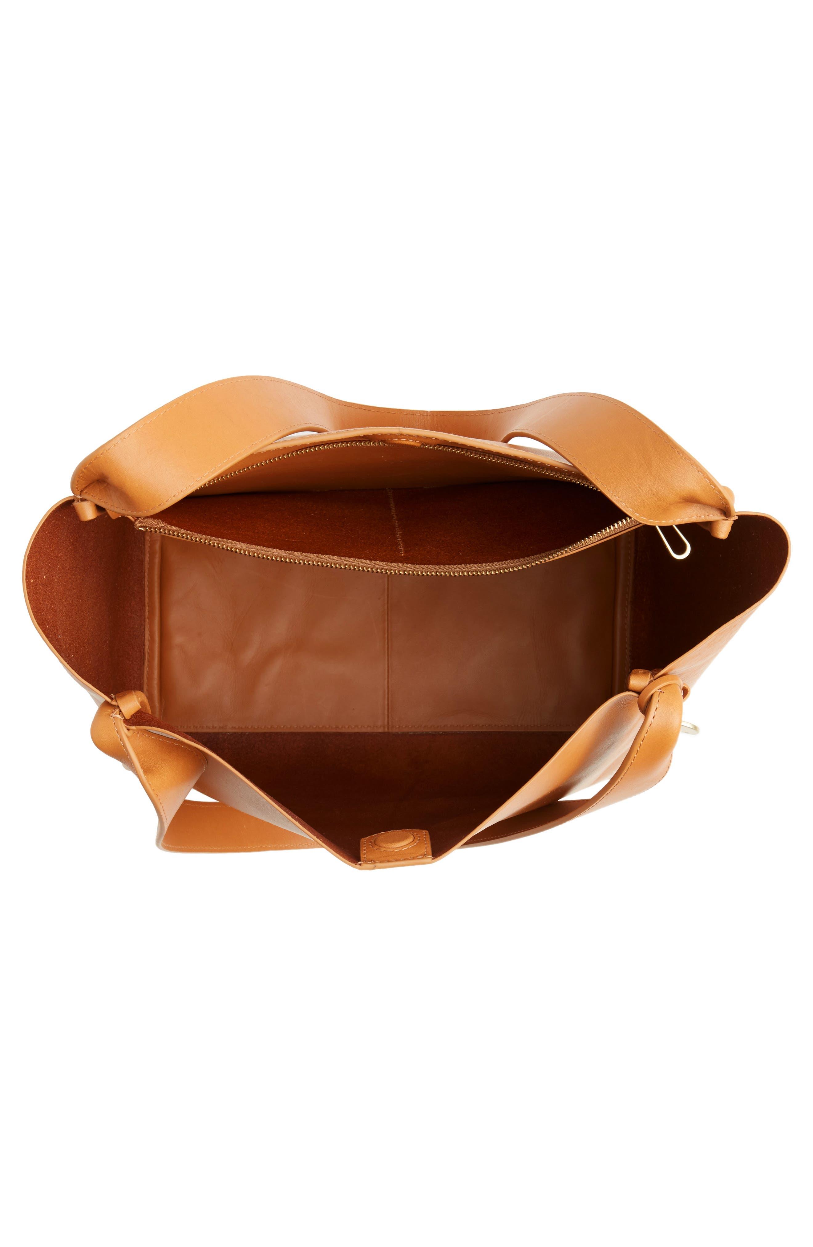 Karalie Leather Shoulder Bag,                             Alternate thumbnail 12, color,