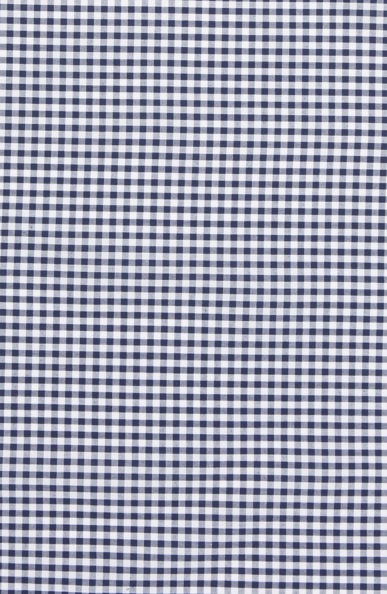 Check Cotton Pocket Square,                             Alternate thumbnail 3, color,                             410