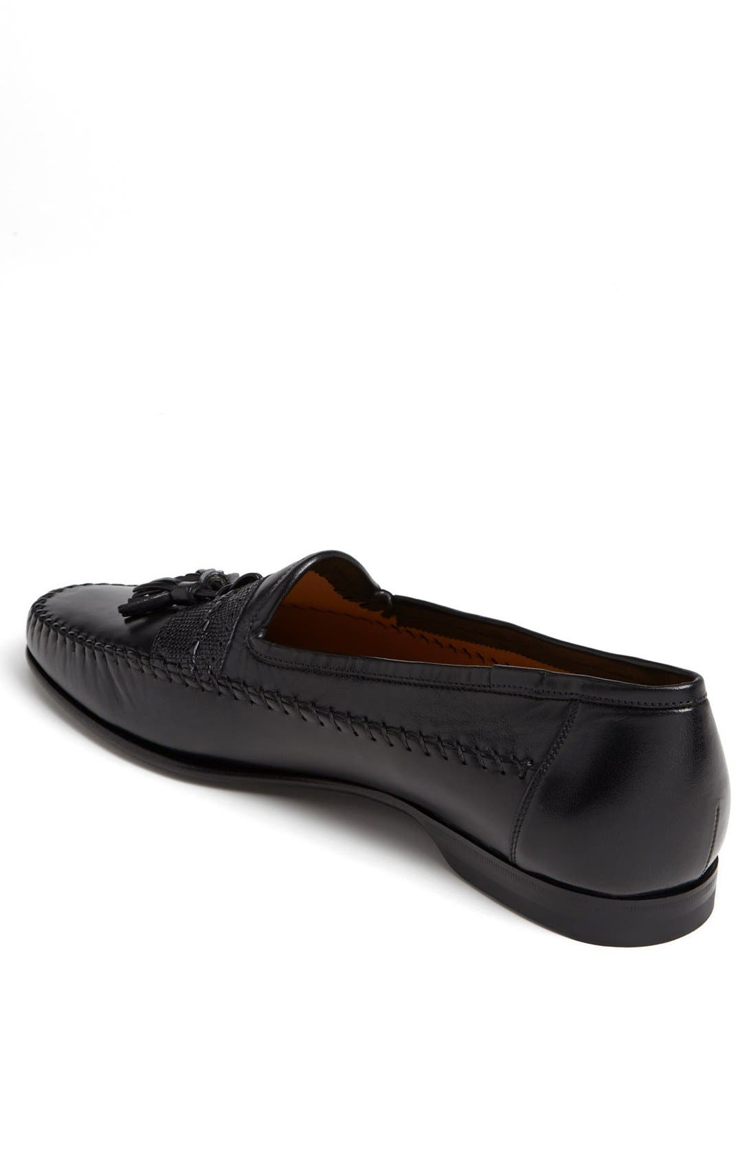 'Hammon' Loafer,                             Alternate thumbnail 2, color,                             BLK
