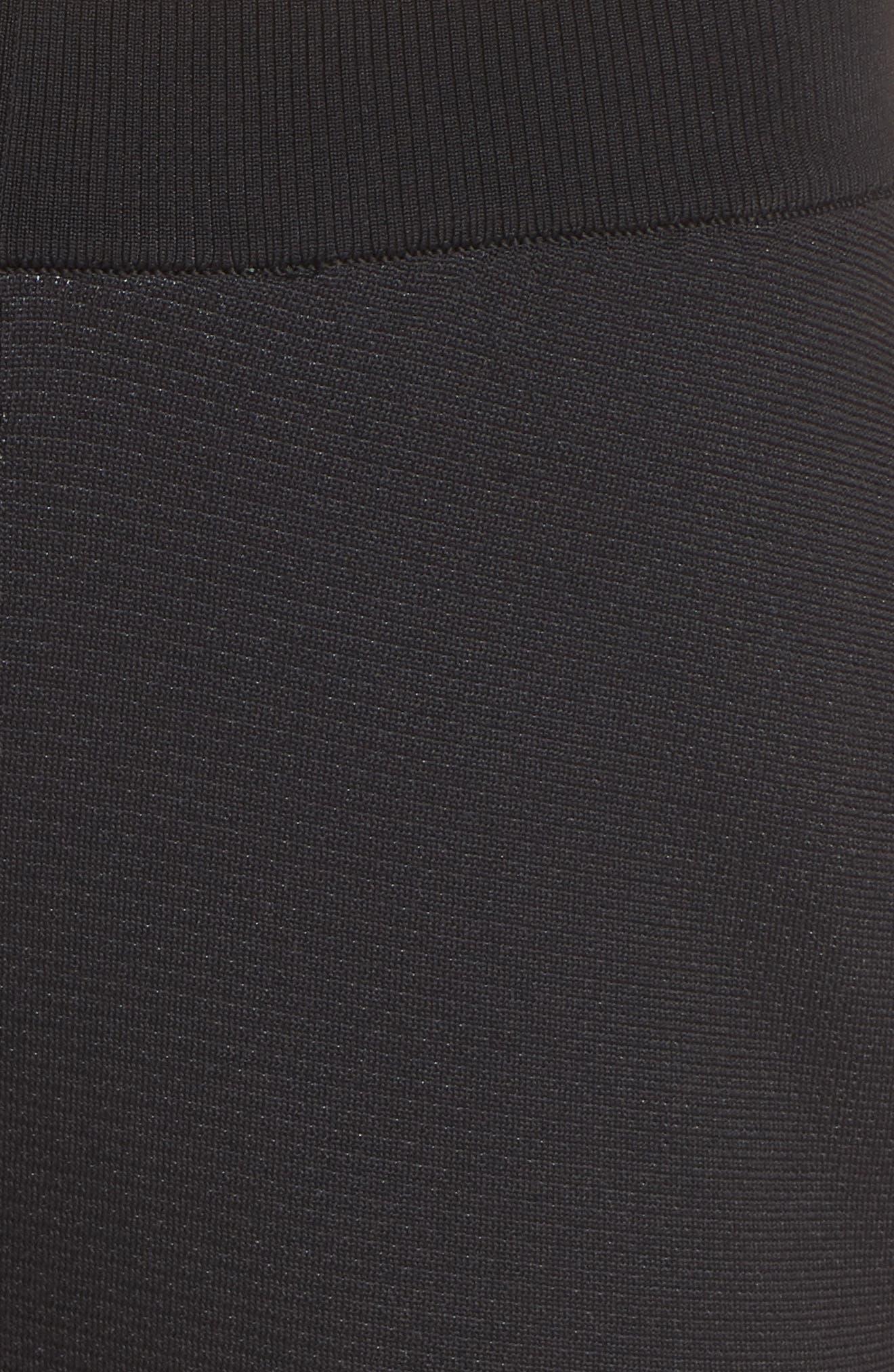 ID Striker Knit Pants,                             Alternate thumbnail 6, color,                             BLACK