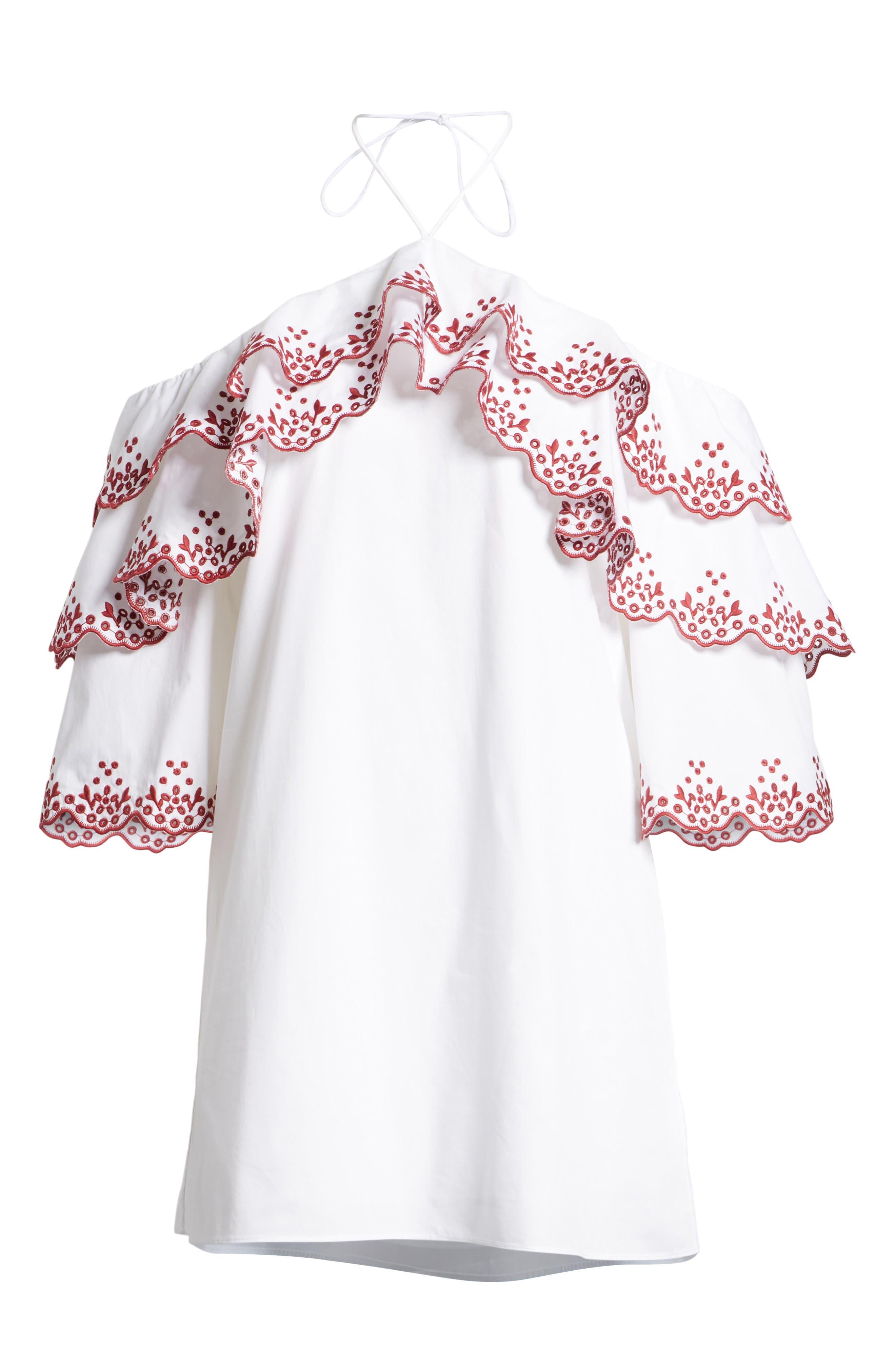 Dena Halter Dress,                             Alternate thumbnail 7, color,                             133
