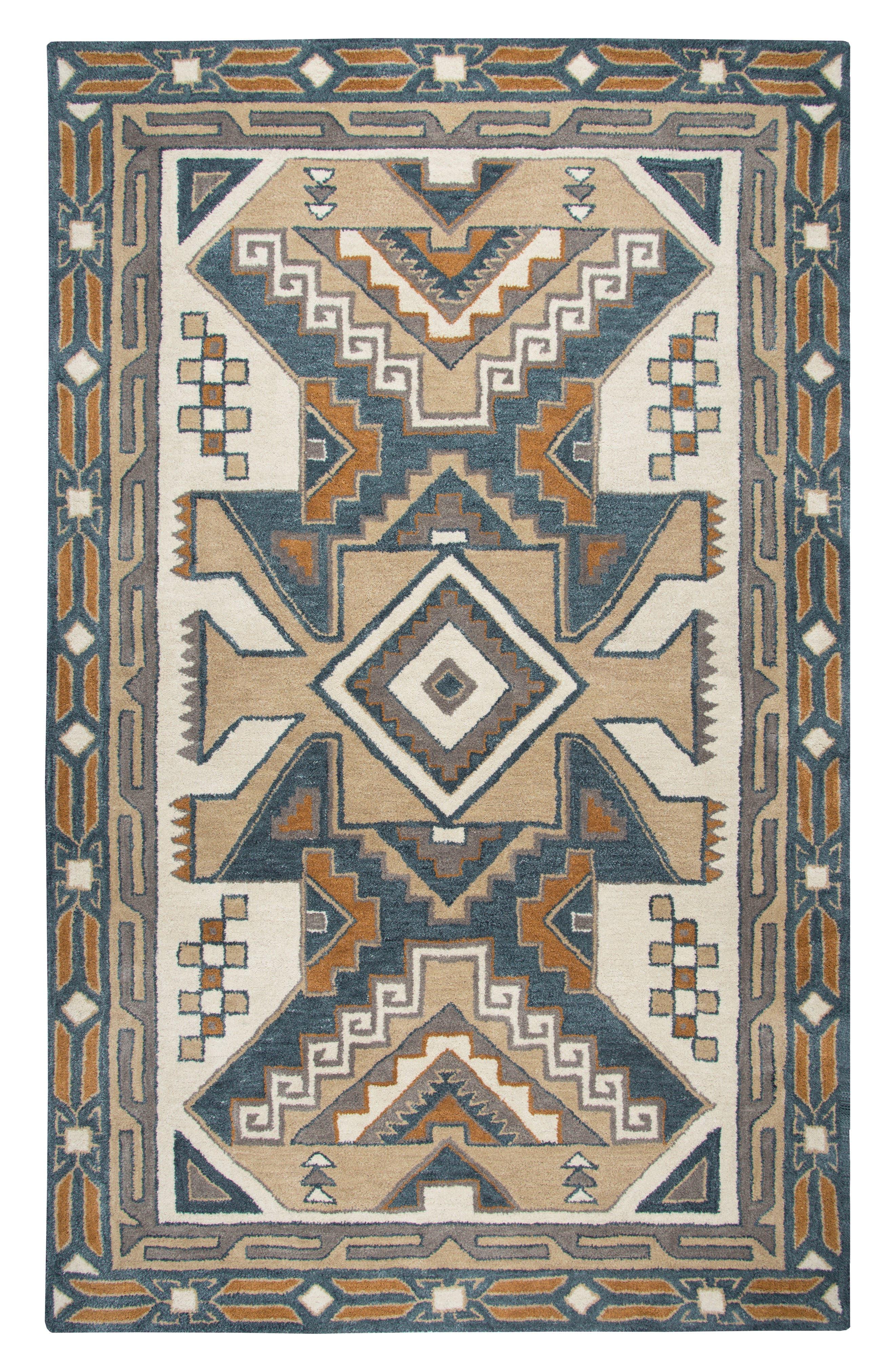 Urban Tiles Hand Tufted Wool Rug,                             Main thumbnail 1, color,                             220