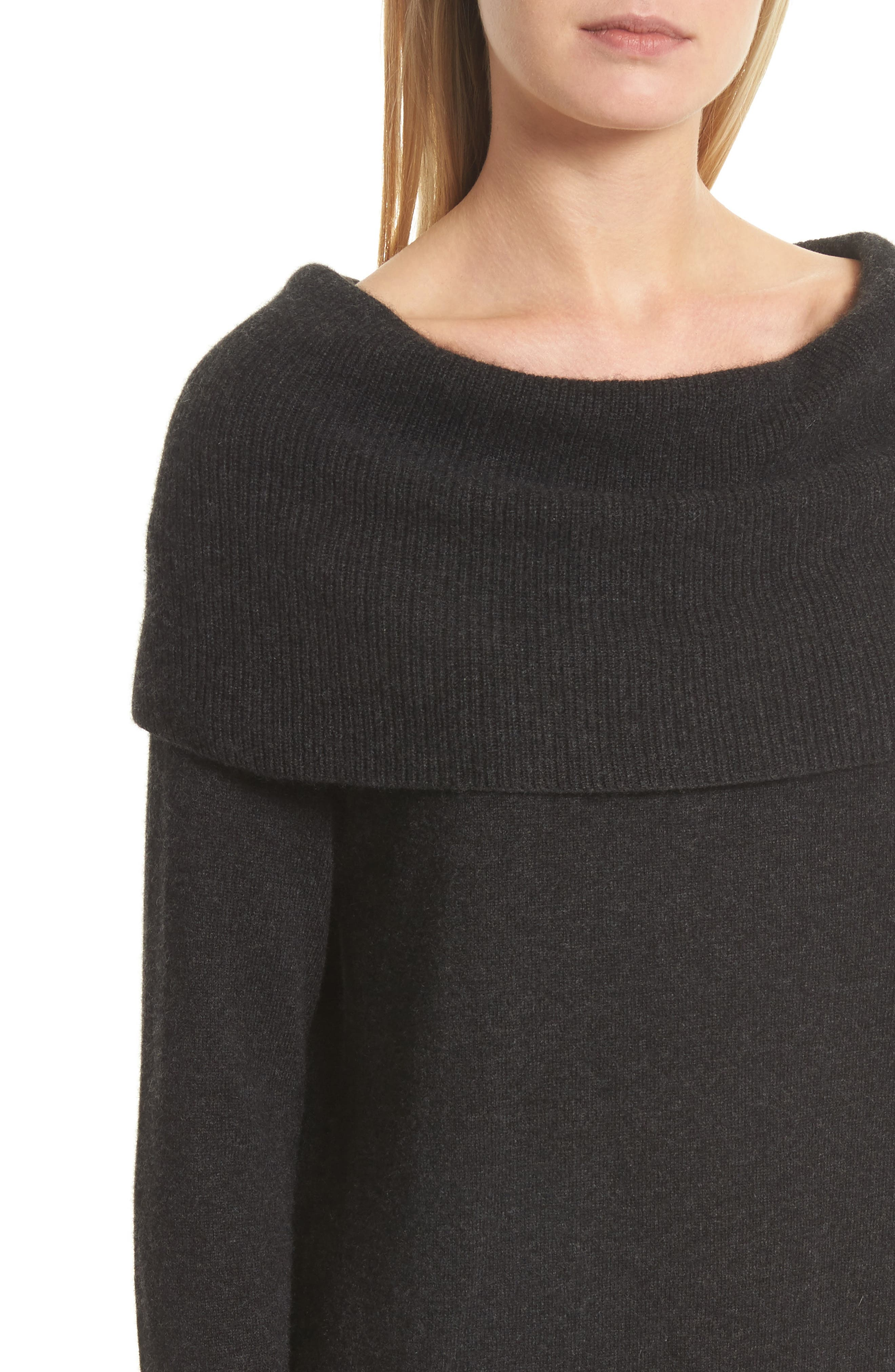 Sibel Wool & Cashmere Sweater,                             Alternate thumbnail 4, color,                             071