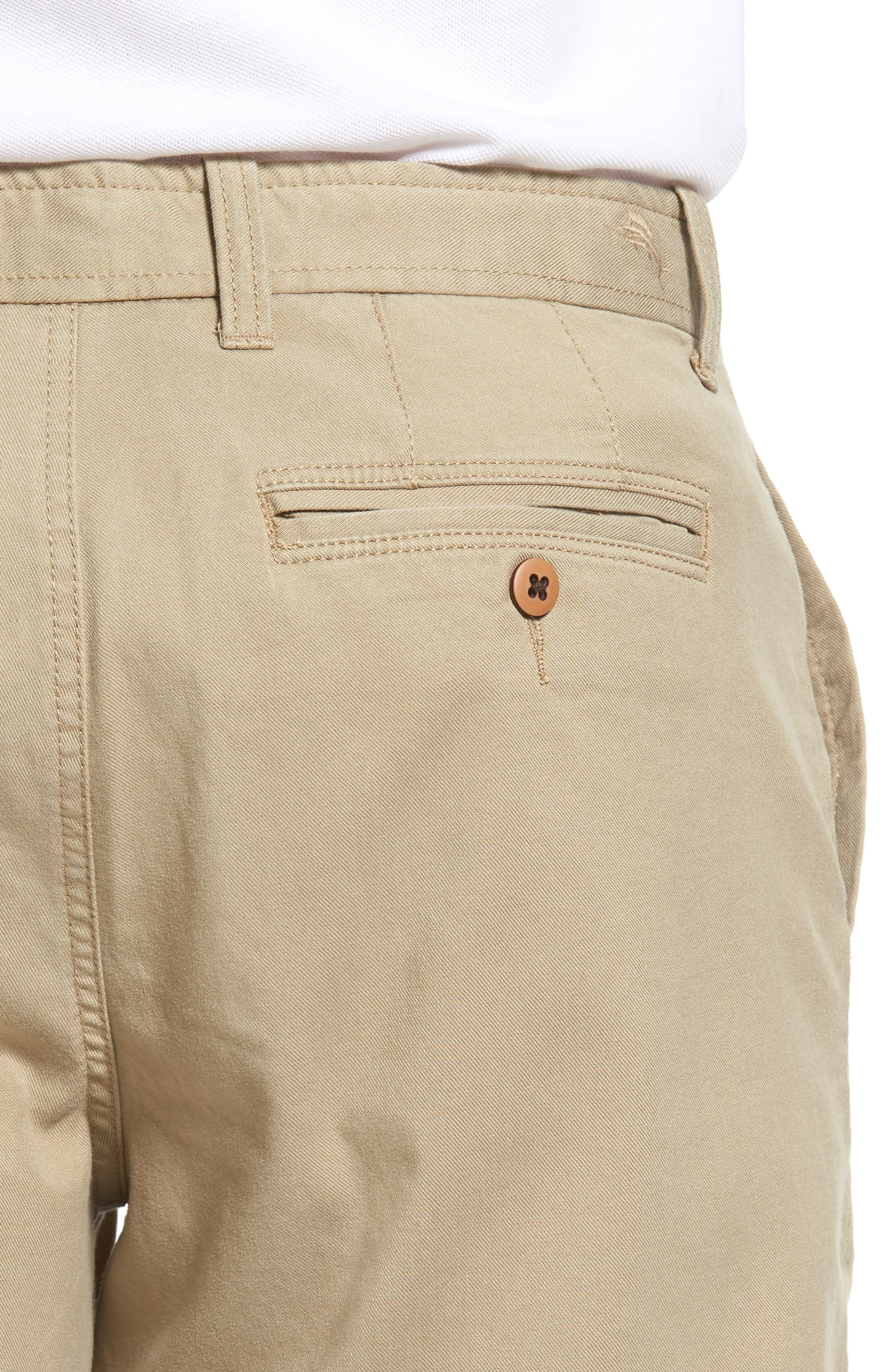 'Offshore' Stretch Twill Shorts,                             Alternate thumbnail 4, color,                             201