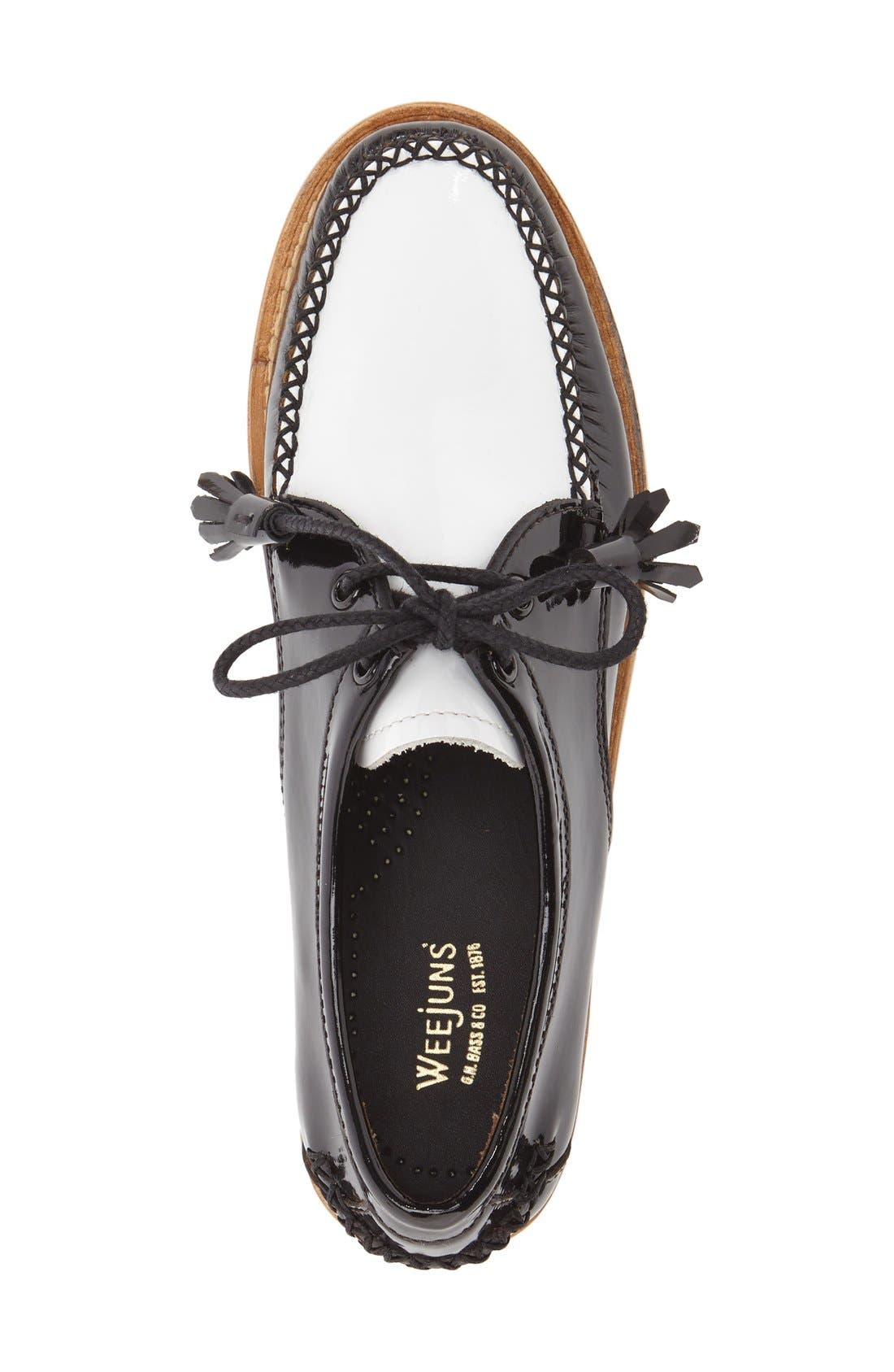 'Winnie' Leather Oxford,                             Alternate thumbnail 15, color,