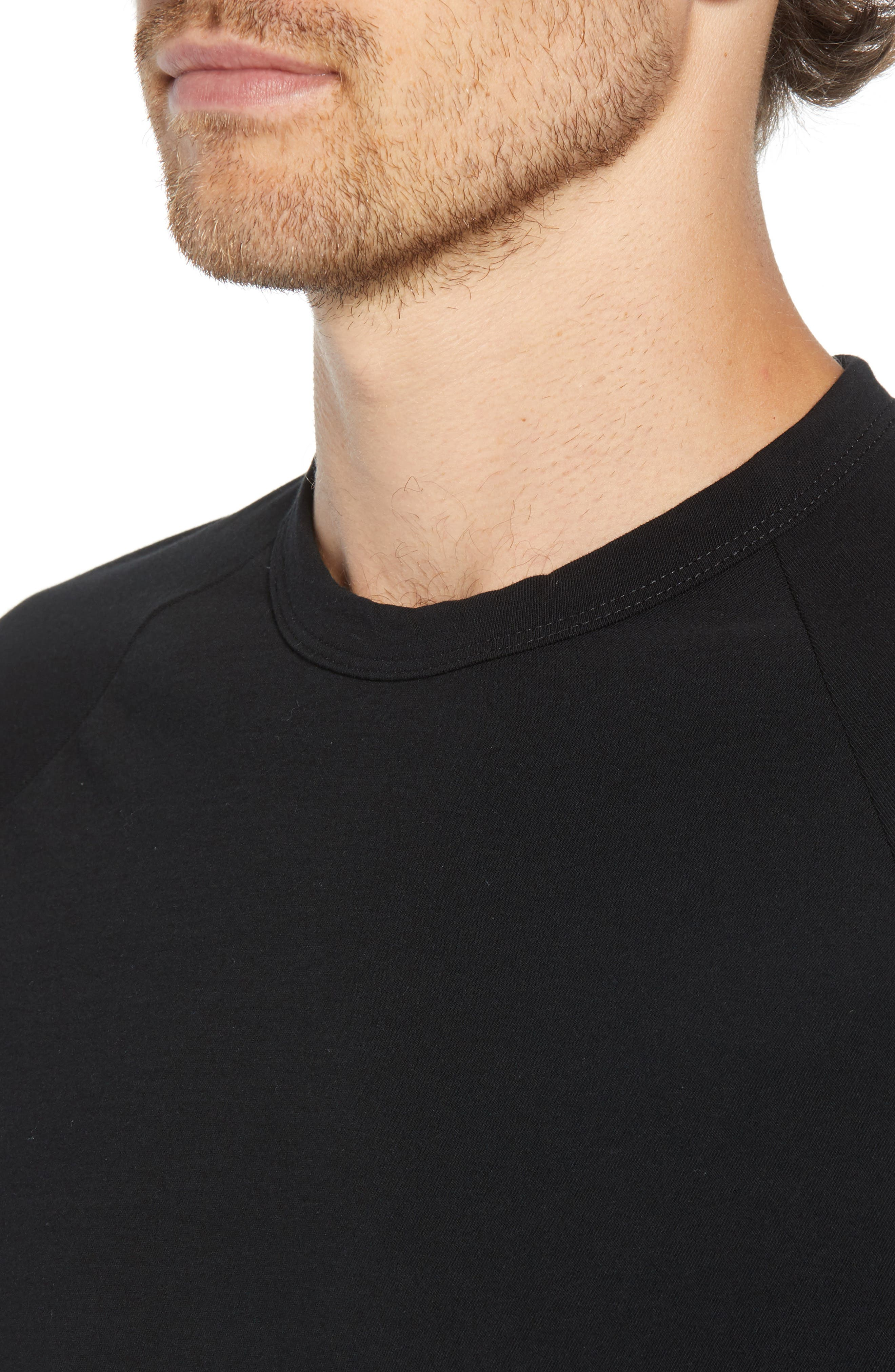 Long Sleeve Graphic T-Shirt,                             Alternate thumbnail 4, color,                             001