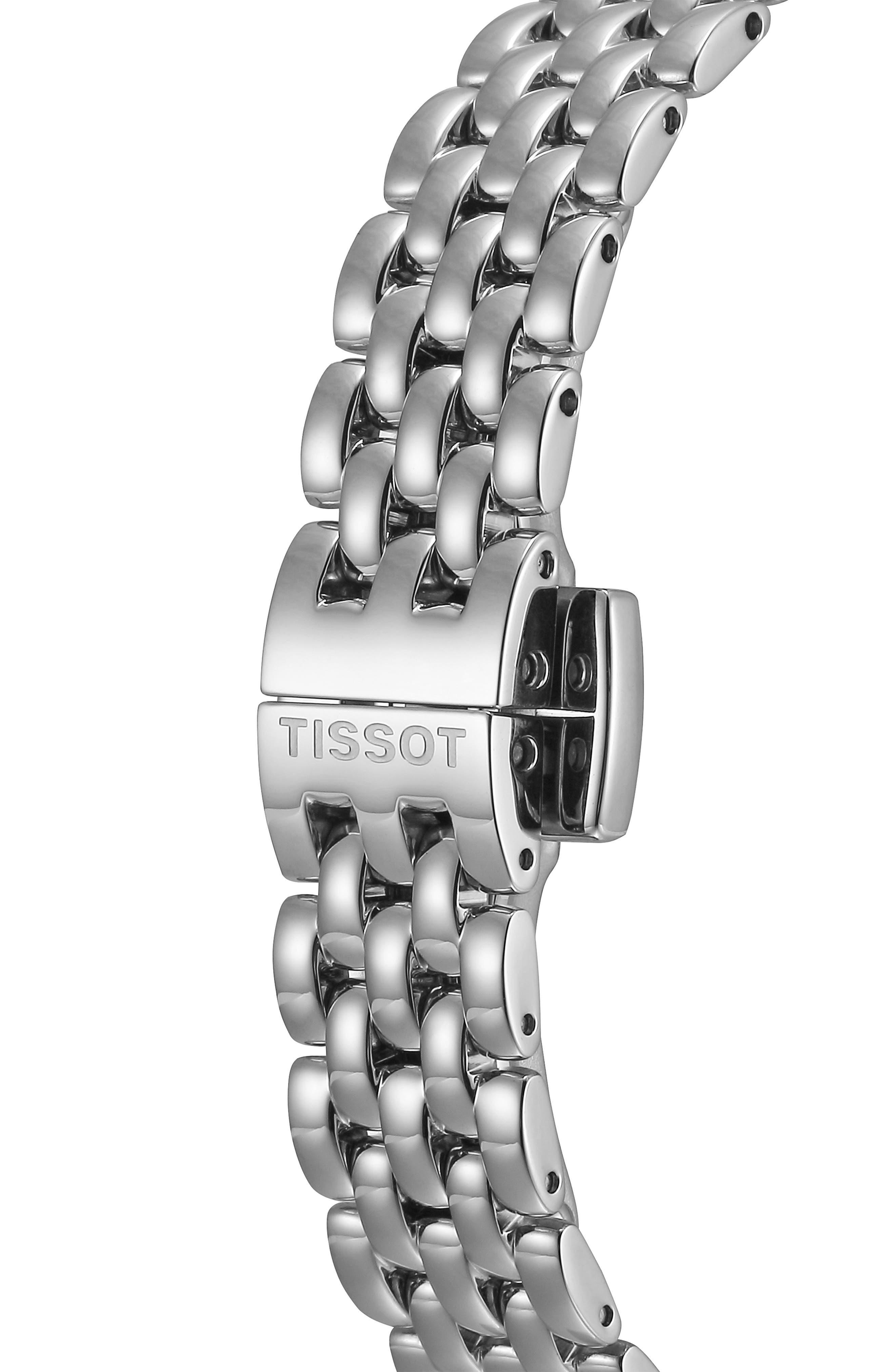Lovely Bracelet Watch, 19mm,                             Alternate thumbnail 5, color,                             SILVER