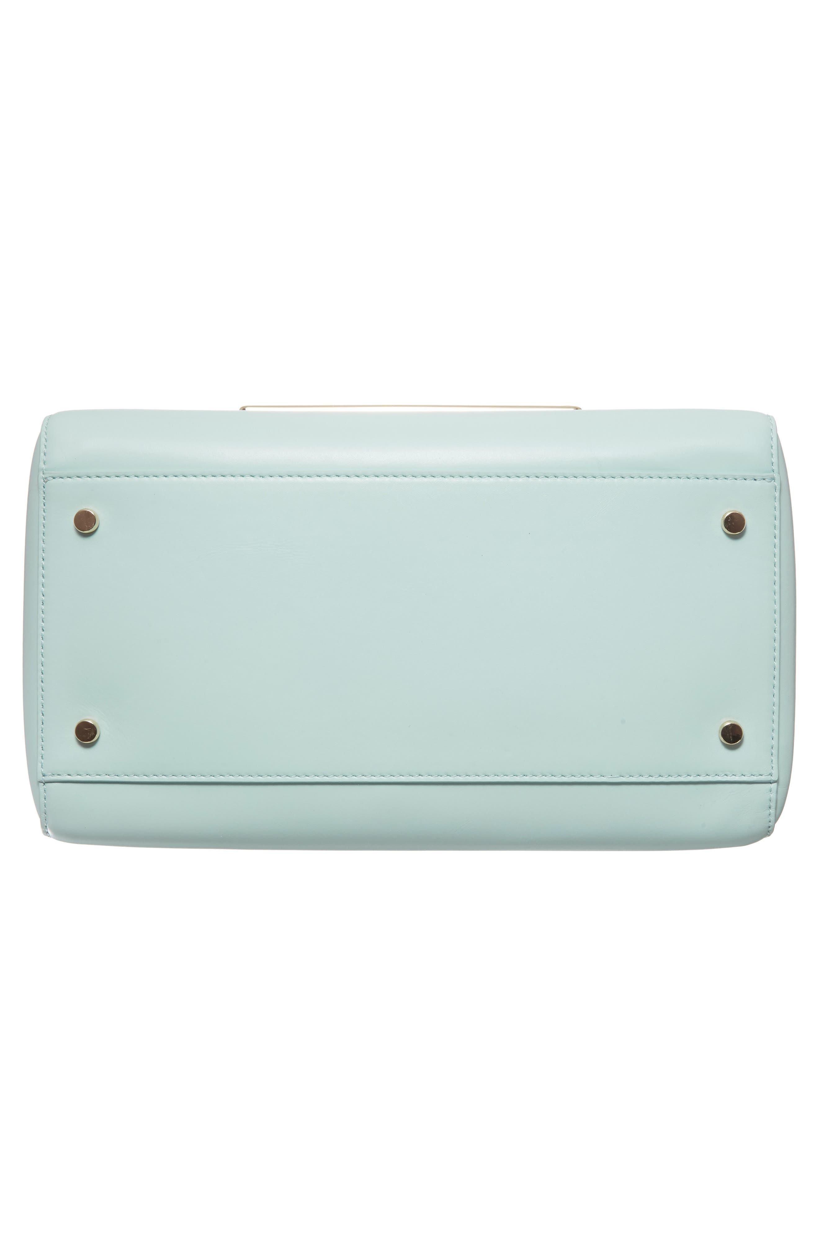 be mine - typewriter leather satchel,                             Alternate thumbnail 7, color,                             474
