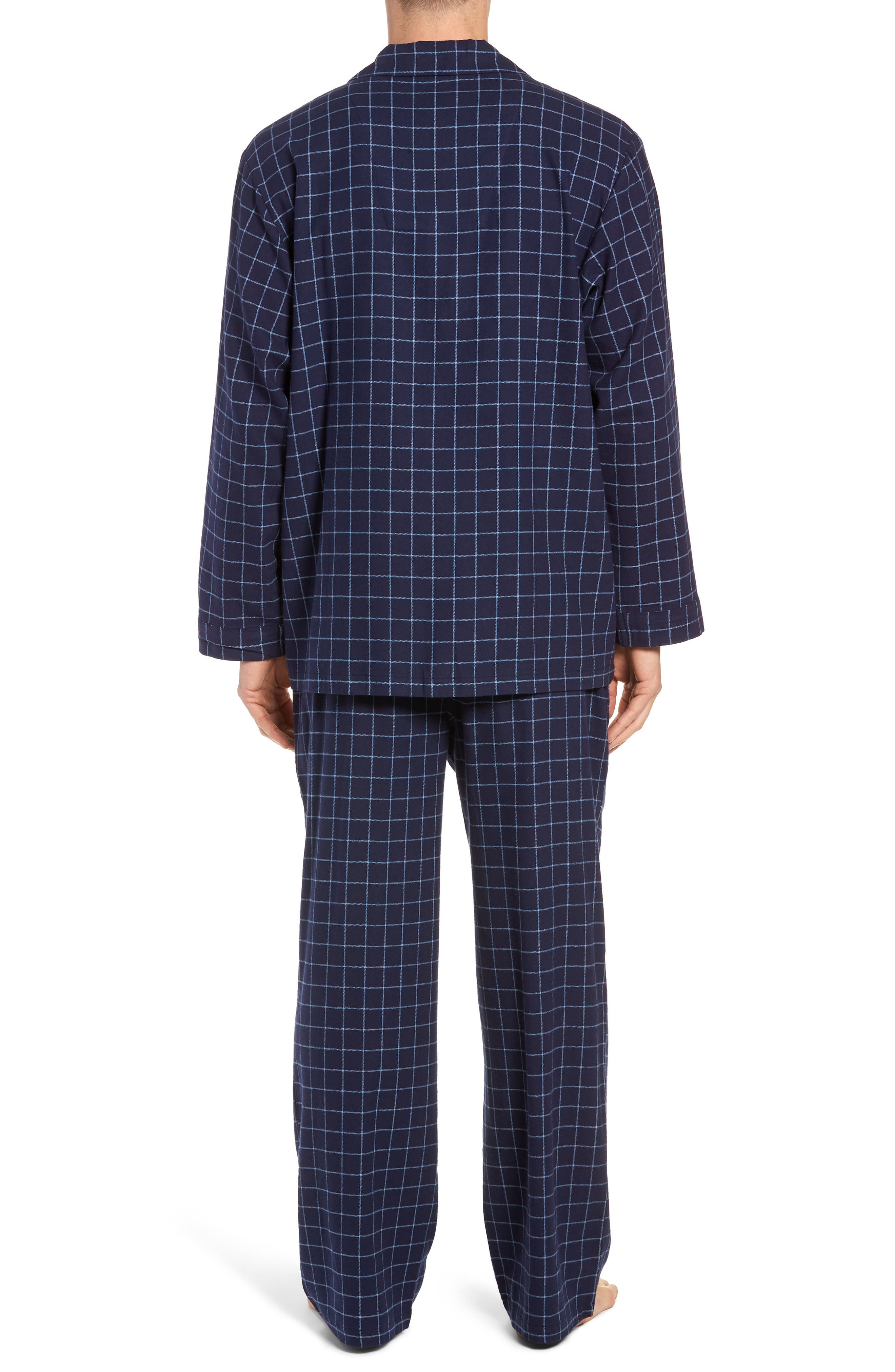 '824' Flannel Pajama Set,                             Alternate thumbnail 35, color,
