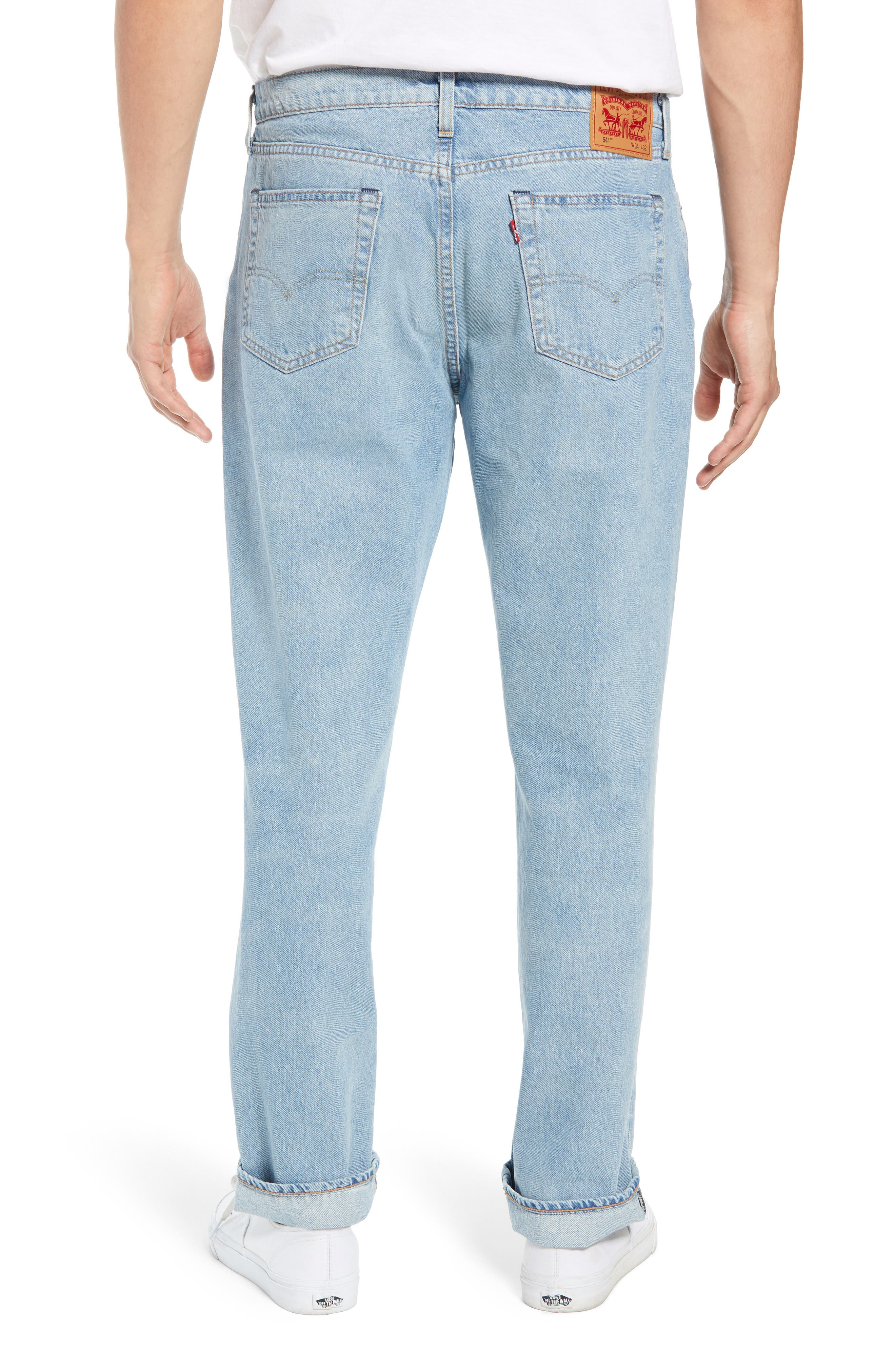 541<sup>™</sup> Relaxed Fit Jeans,                             Alternate thumbnail 2, color,                             OCEAN PARKWAY