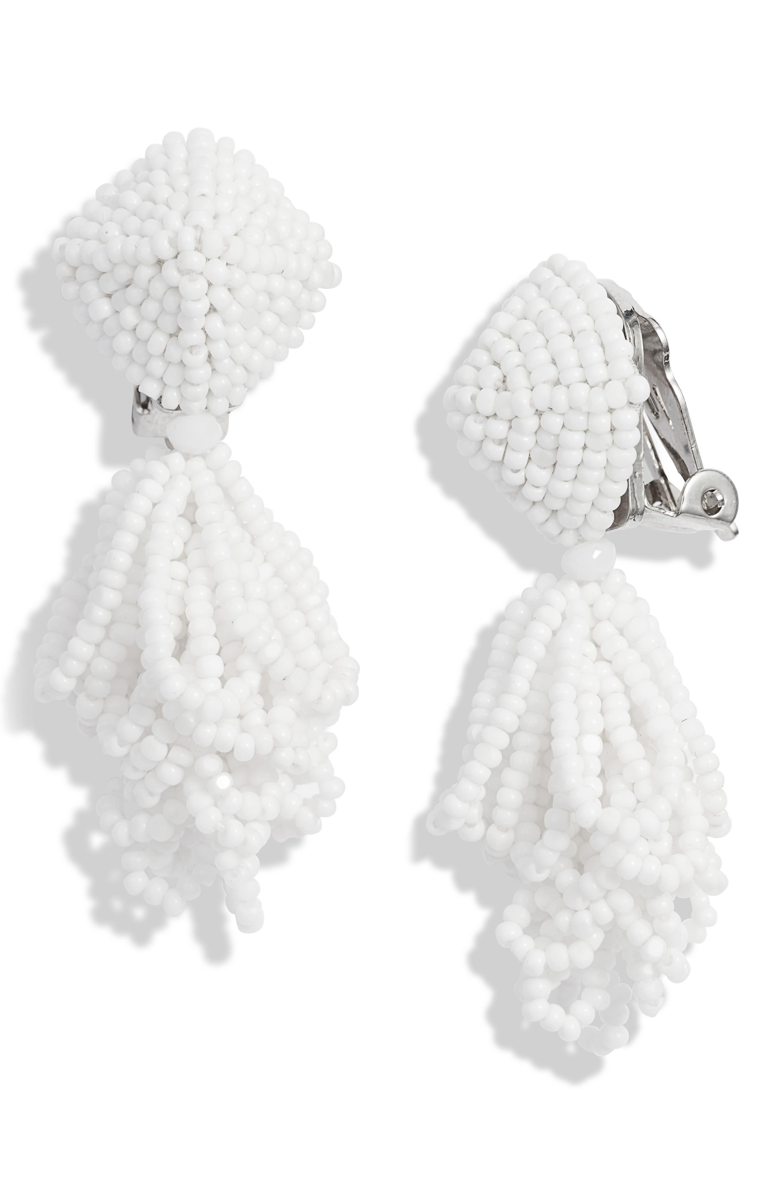 Sachin & Babi Accessories NOIR MINI LULU DROP EARRINGS