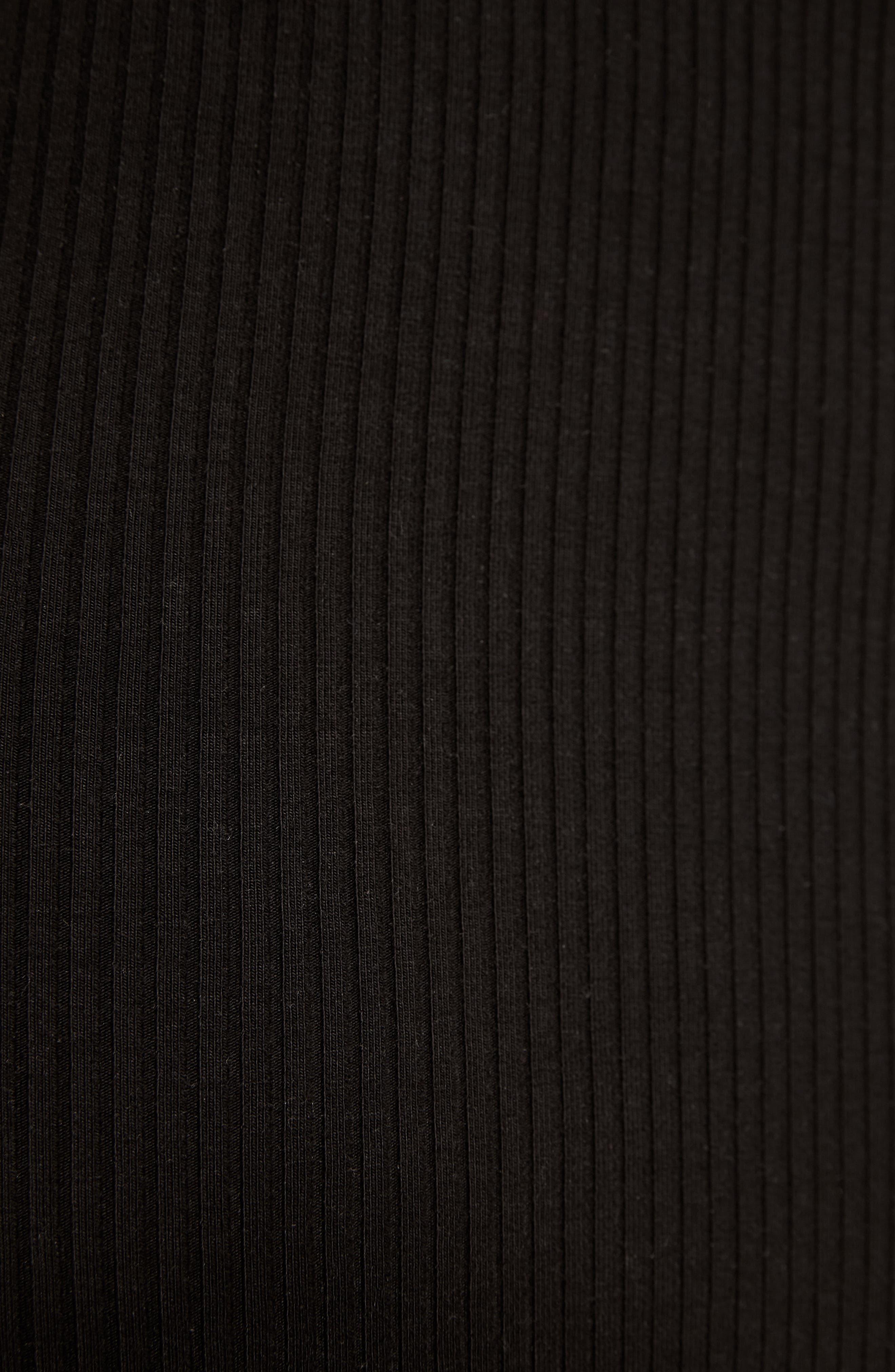 Jayne Bustier Body-Con Dress,                             Alternate thumbnail 6, color,                             001