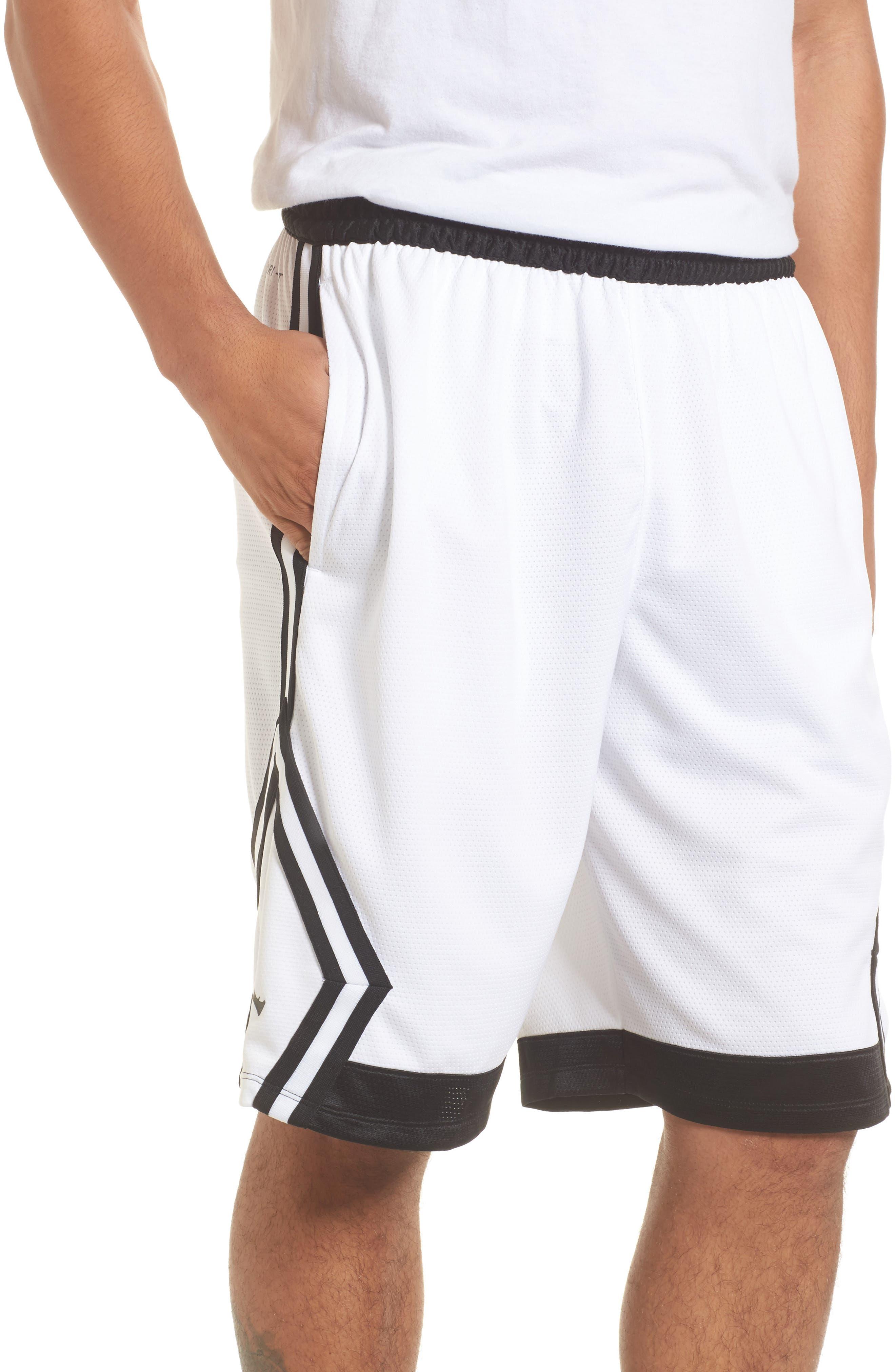 Sportswear Rise Diamond Shorts,                             Main thumbnail 4, color,