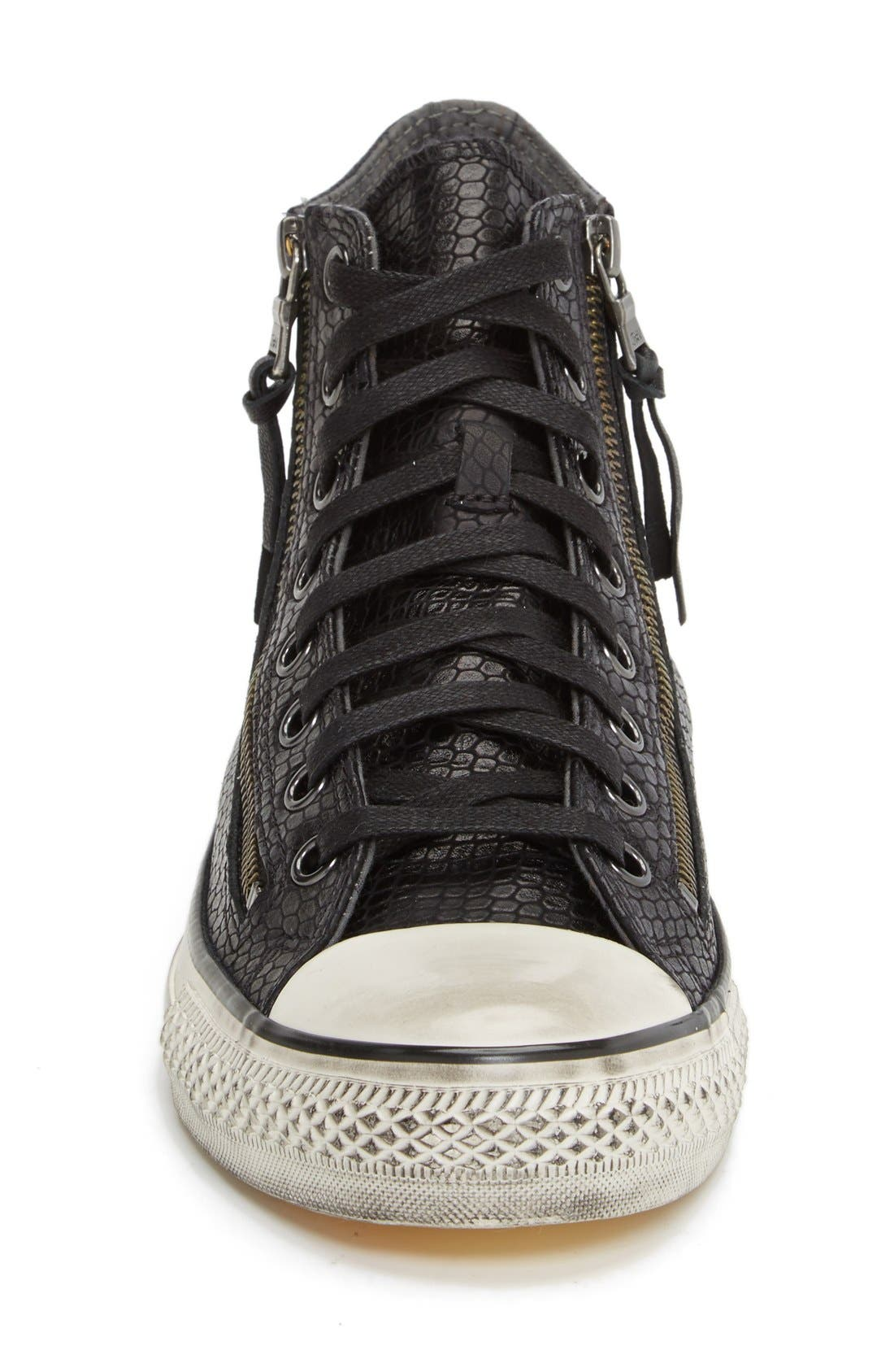 Chuck Taylor<sup>®</sup> All Star<sup>®</sup> Zip Sneaker,                             Alternate thumbnail 2, color,                             001