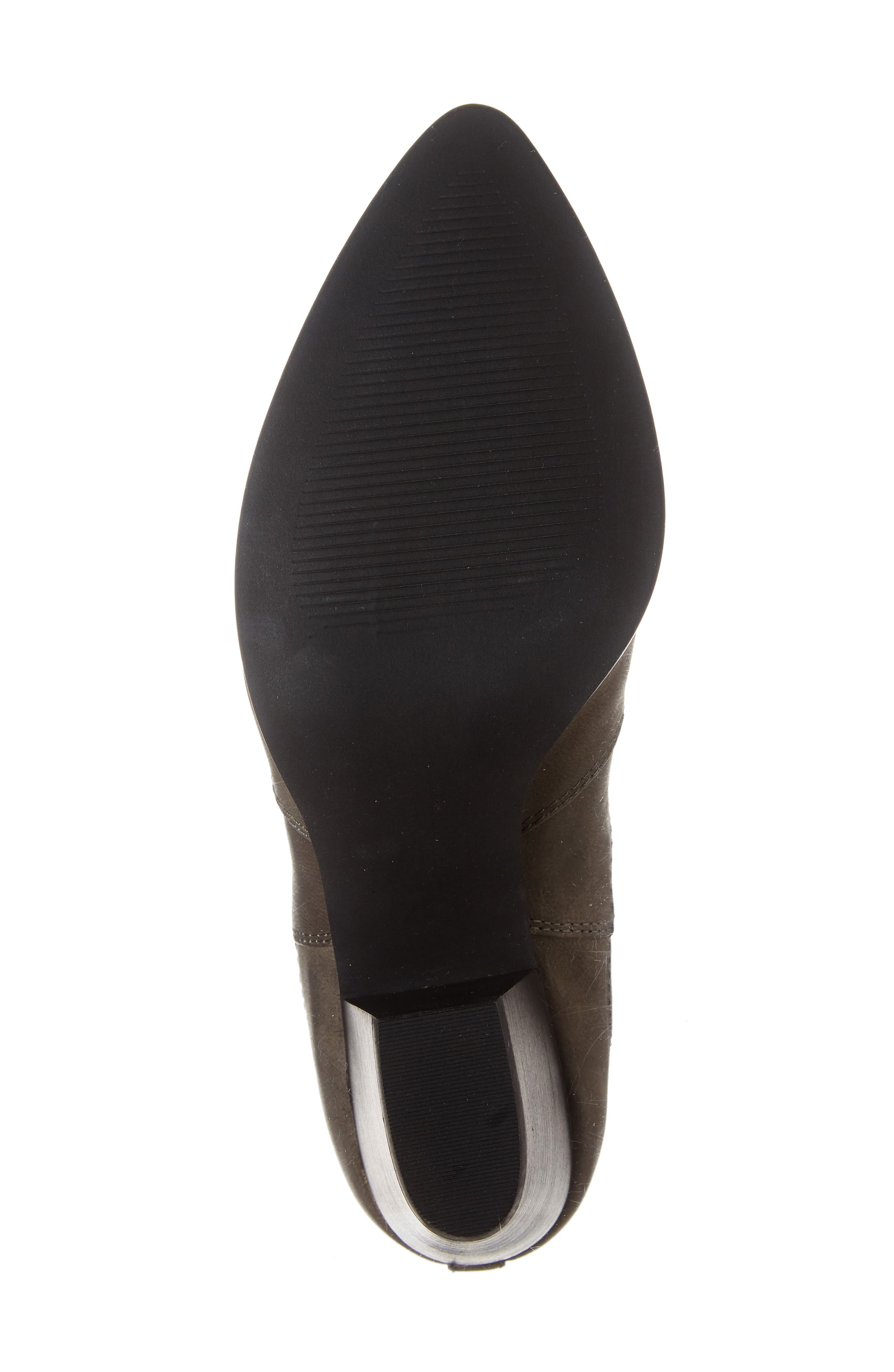 Emerson Chelsea Bootie,                             Alternate thumbnail 6, color,                             GREY BURNISHED LEATHER