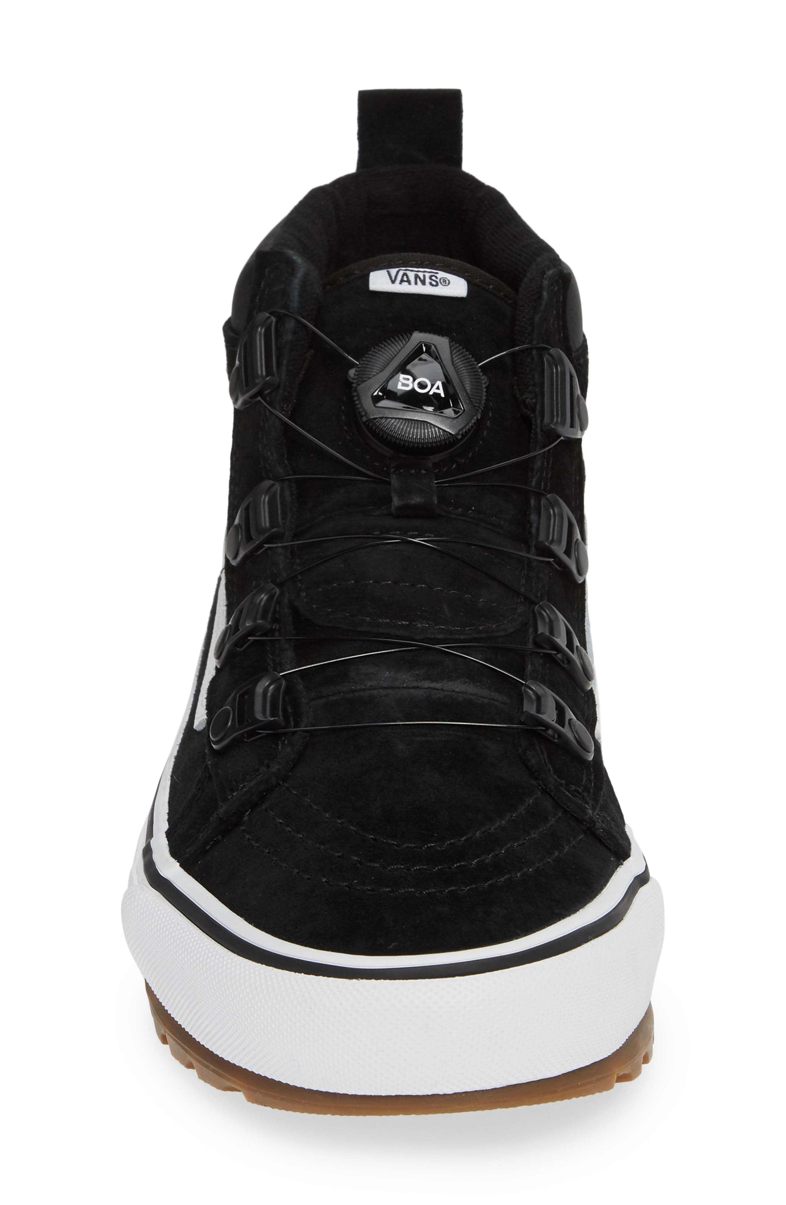Sk8-Hi MTE Boa Sneaker,                             Alternate thumbnail 4, color,                             001