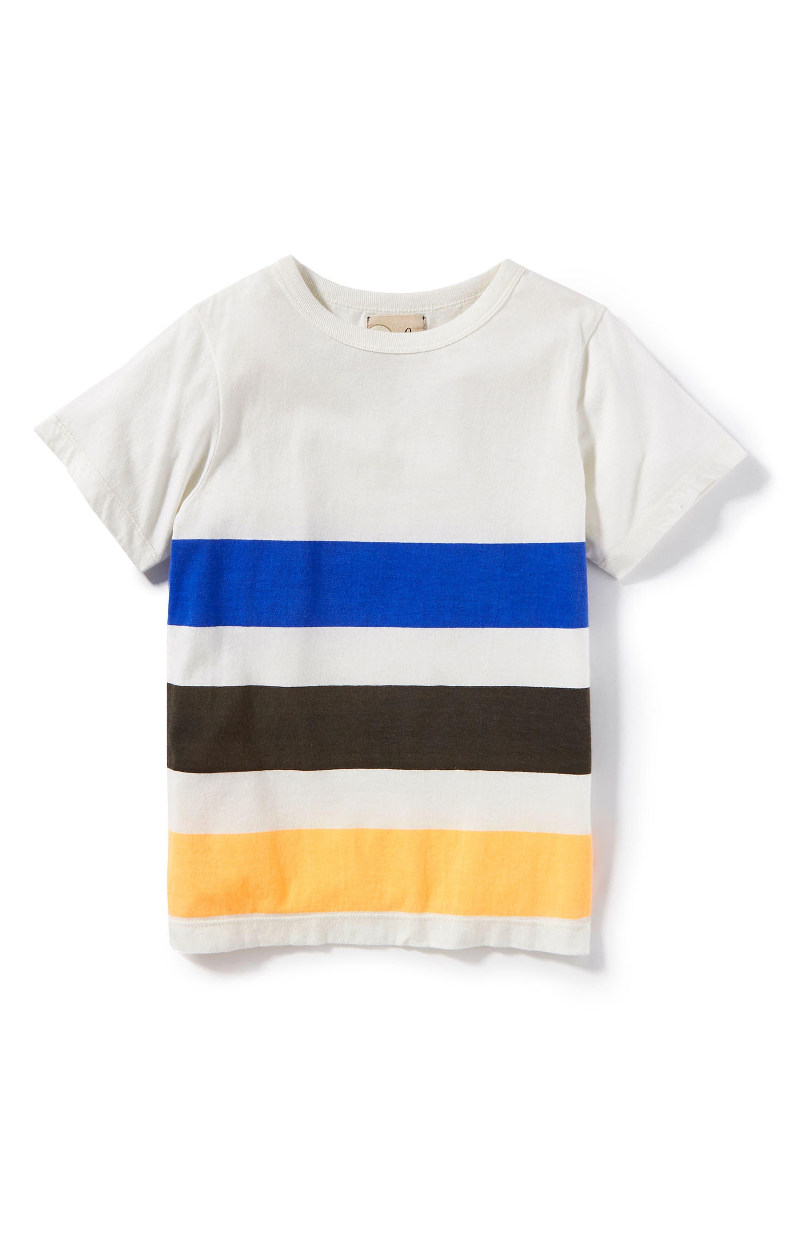 Quinn Stripe T-Shirt,                             Alternate thumbnail 2, color,                             100