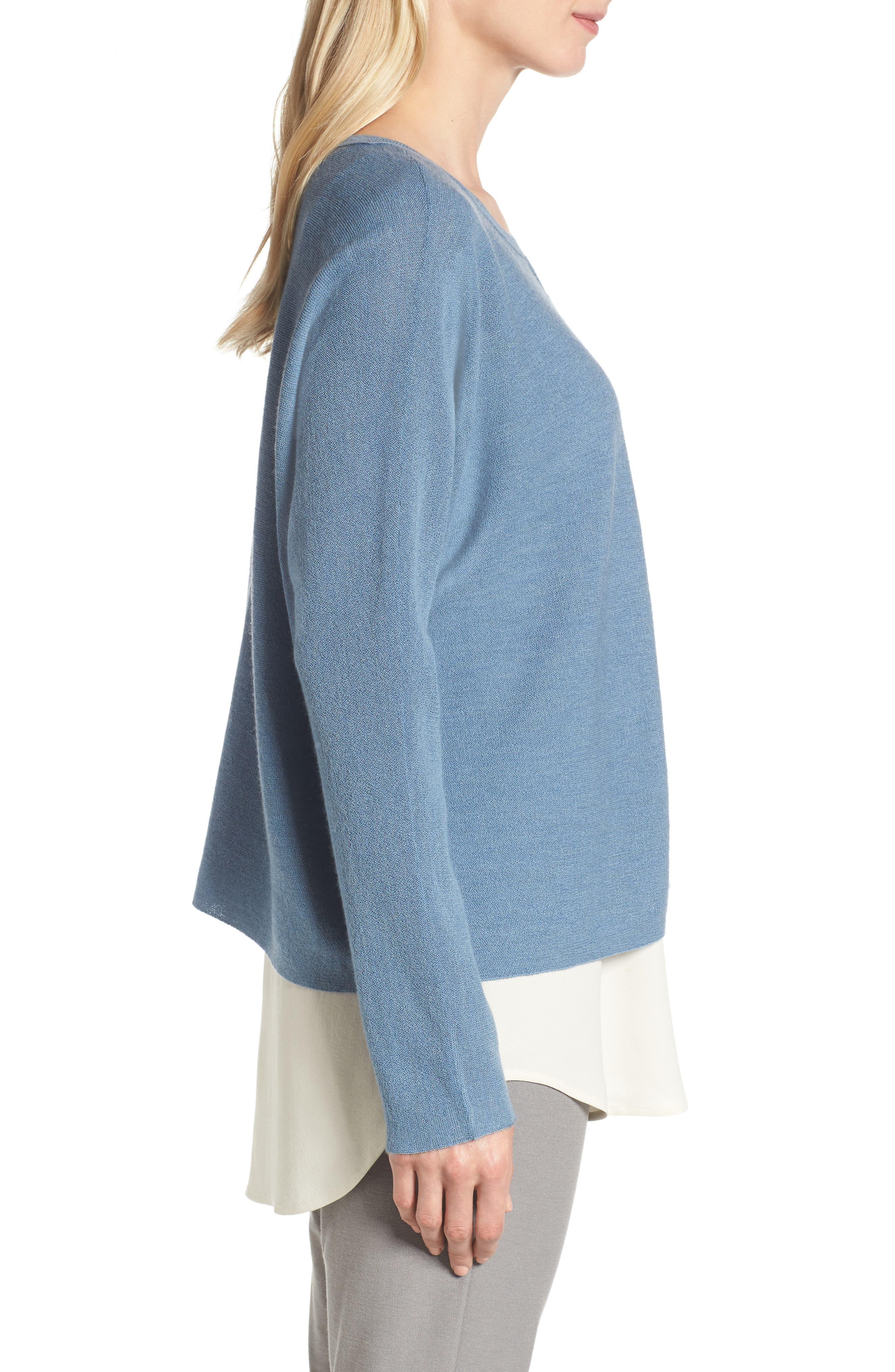 Merino Wool Sweater,                             Alternate thumbnail 12, color,