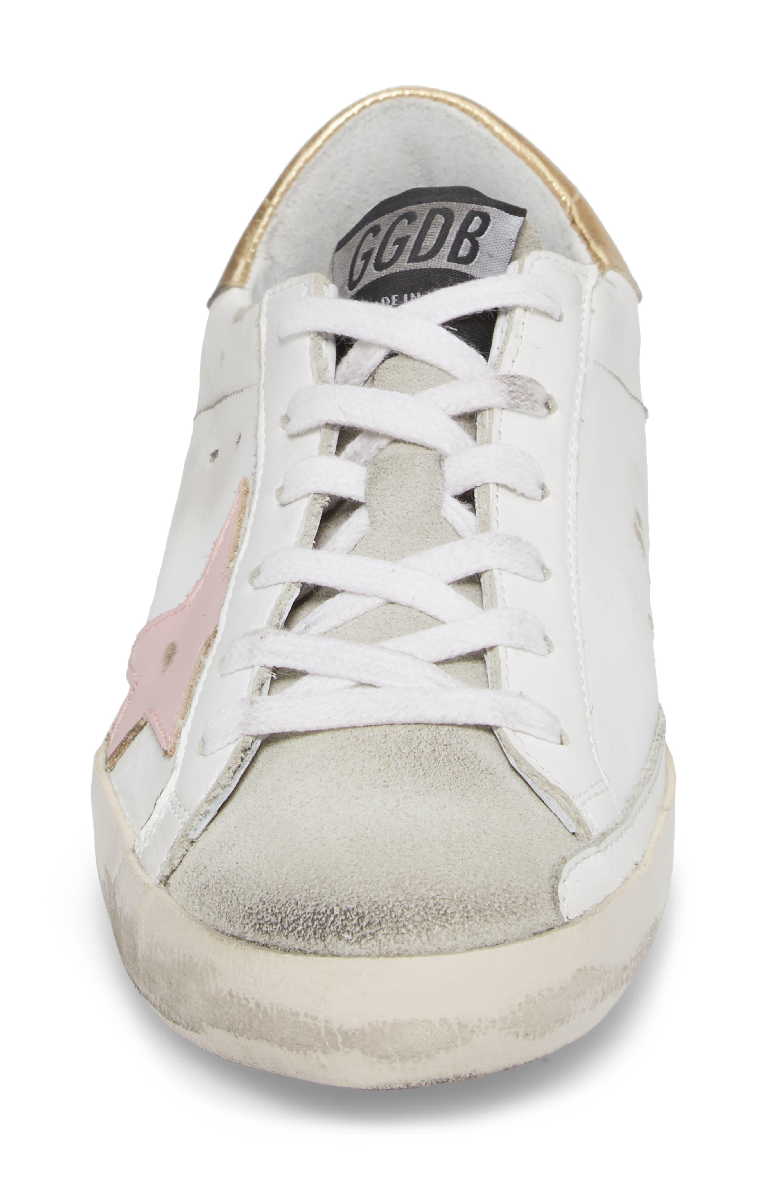 Superstar Low Top Sneaker,                             Alternate thumbnail 4, color,