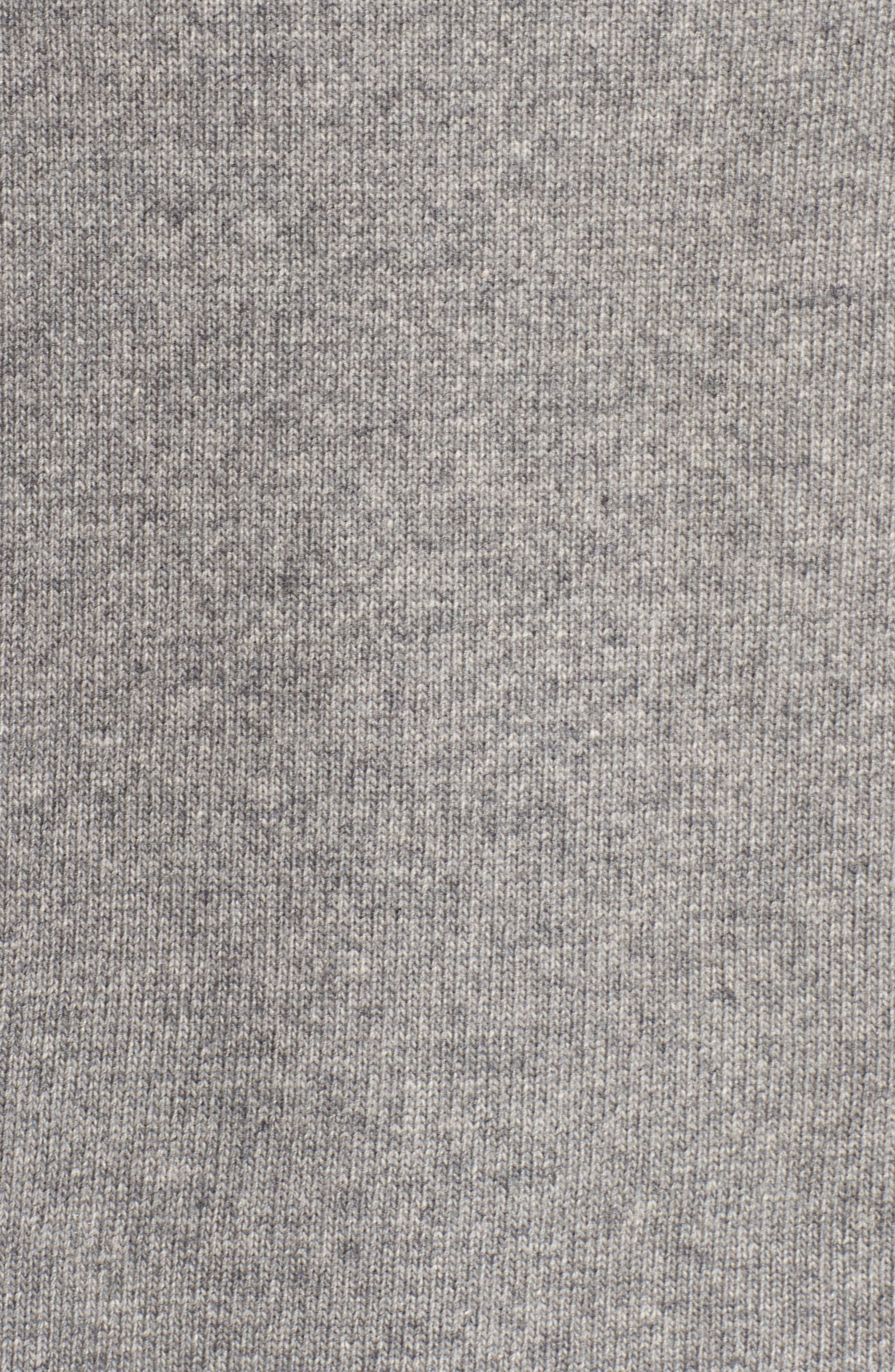 Rhodyn Off The Shoulder Sweater,                             Alternate thumbnail 5, color,                             GREY HEATHER