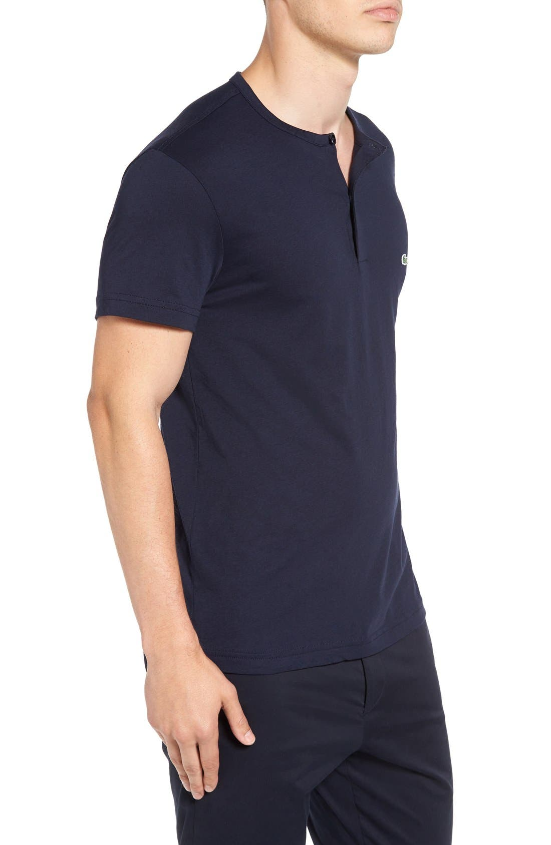 Henley T-Shirt,                             Alternate thumbnail 12, color,