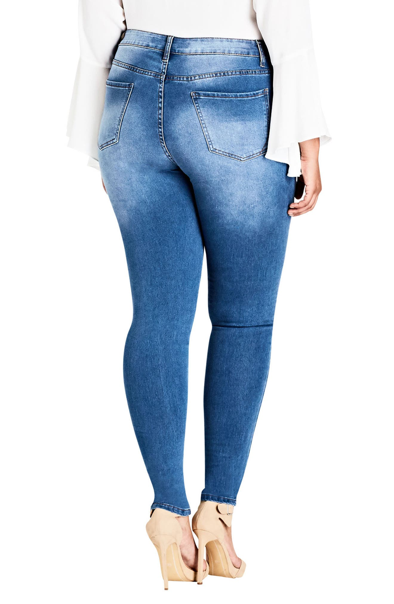 Harley Posey Skinny Jeans,                             Alternate thumbnail 2, color,                             410