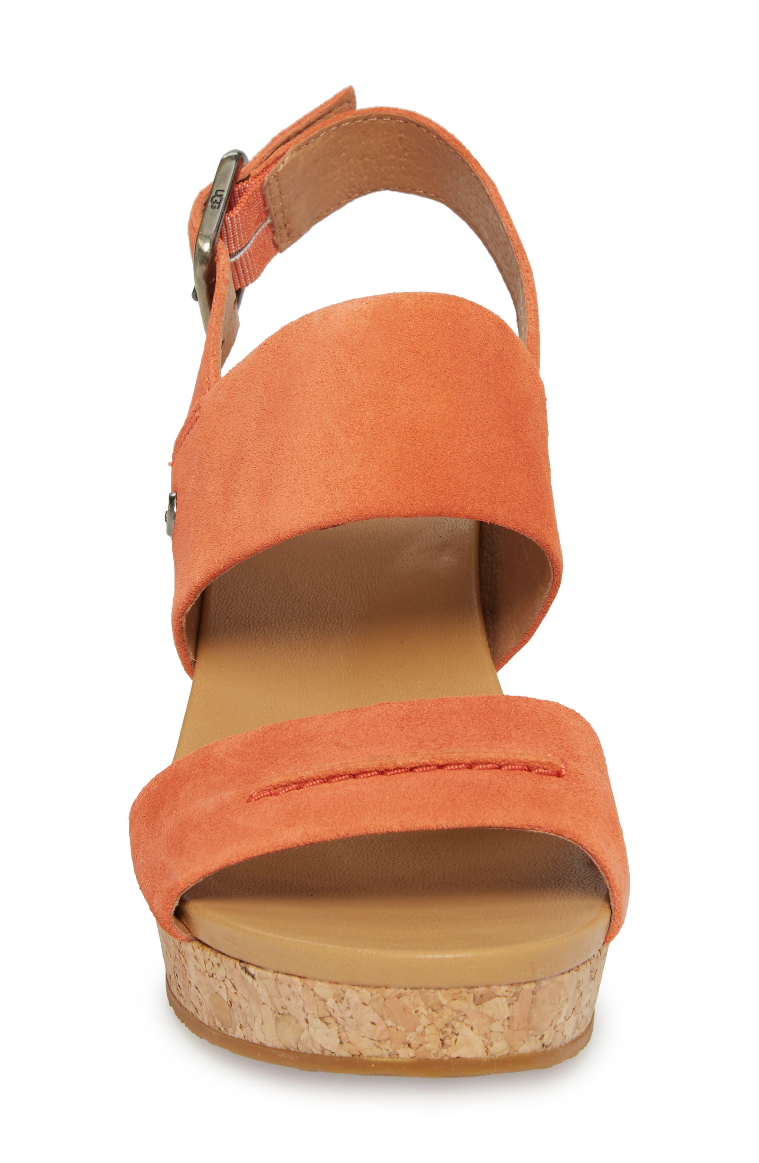 Elena II Platform Wedge Sandal,                             Alternate thumbnail 12, color,