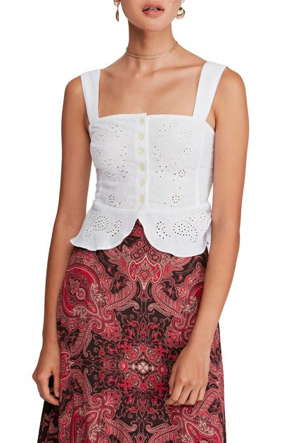 Free People Tops I WANT YOU BABE TANK TOP