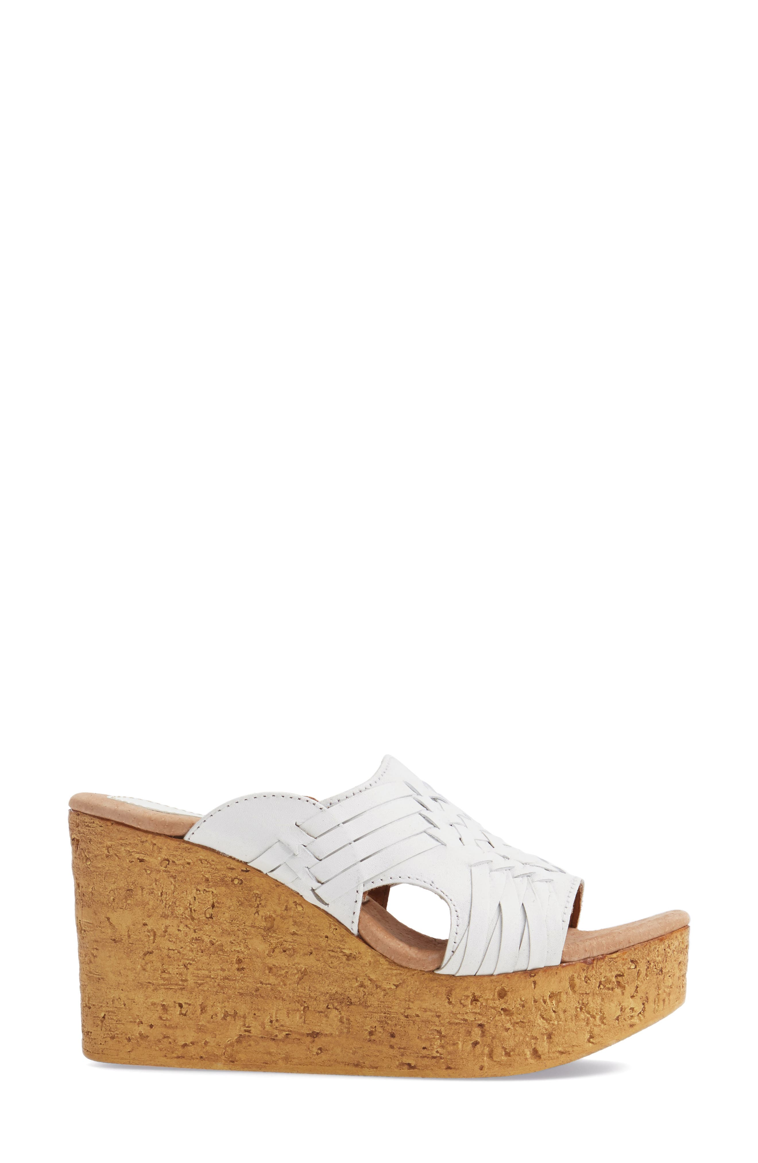 Manny Platform Wedge,                             Alternate thumbnail 5, color,