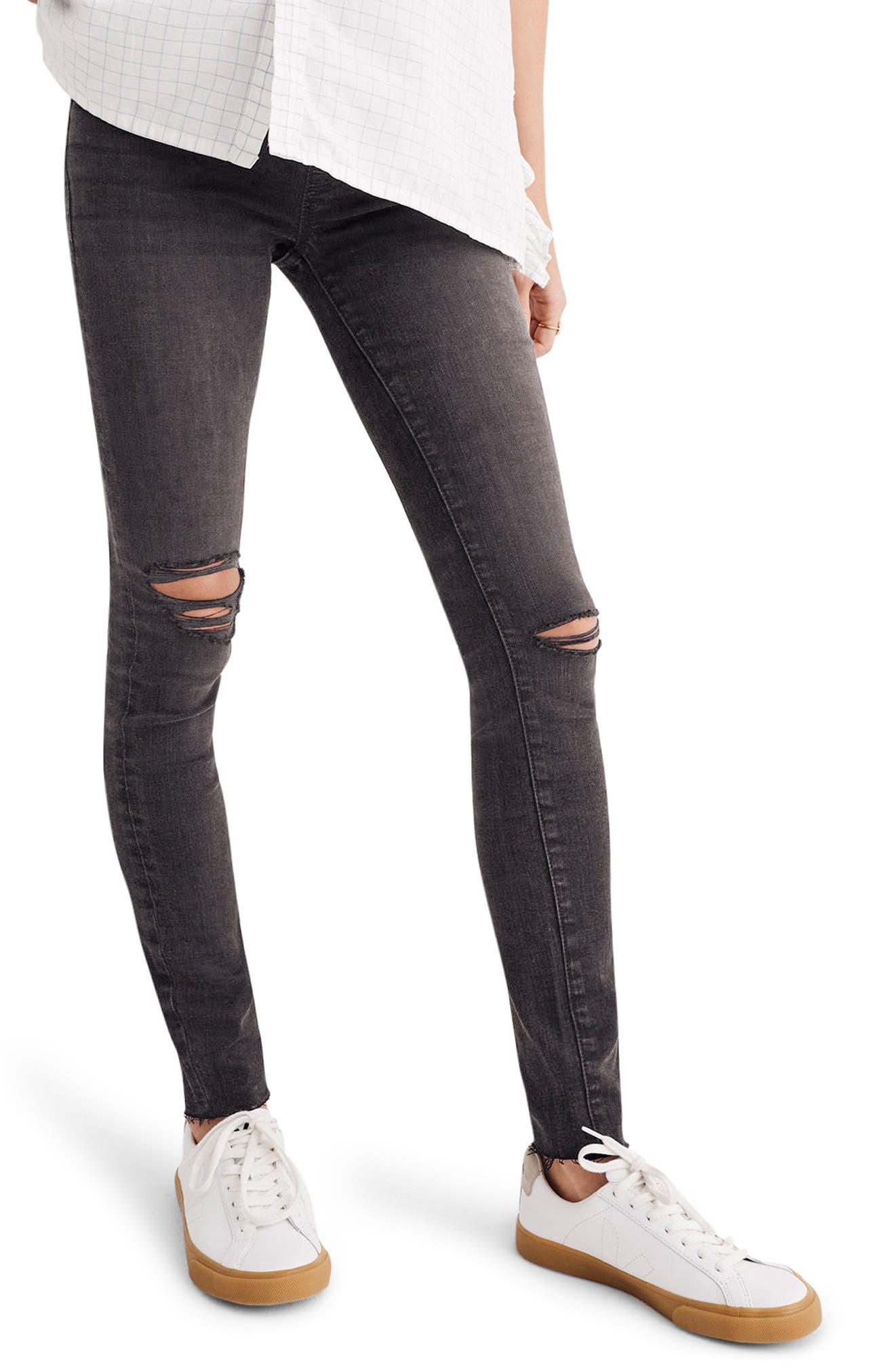 Maternity Skinny Jeans,                             Alternate thumbnail 2, color,                             009