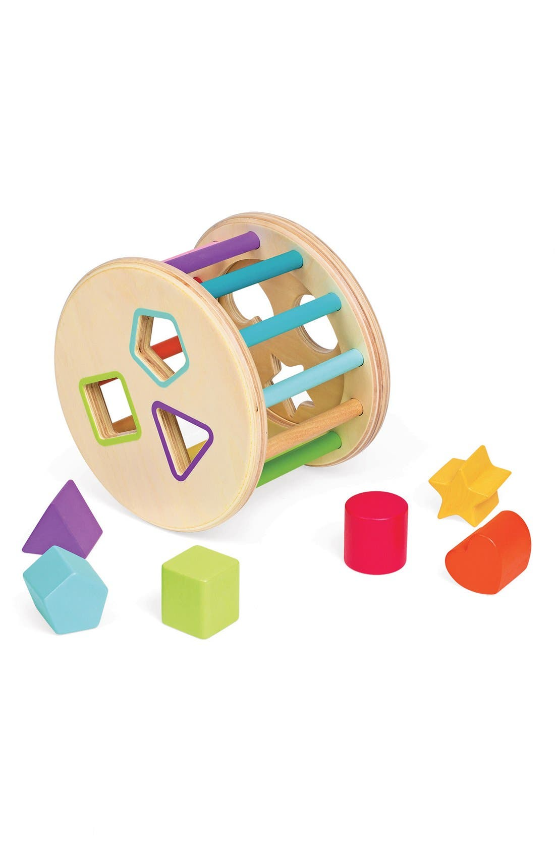 Wood Shape Sorter,                             Alternate thumbnail 2, color,                             650