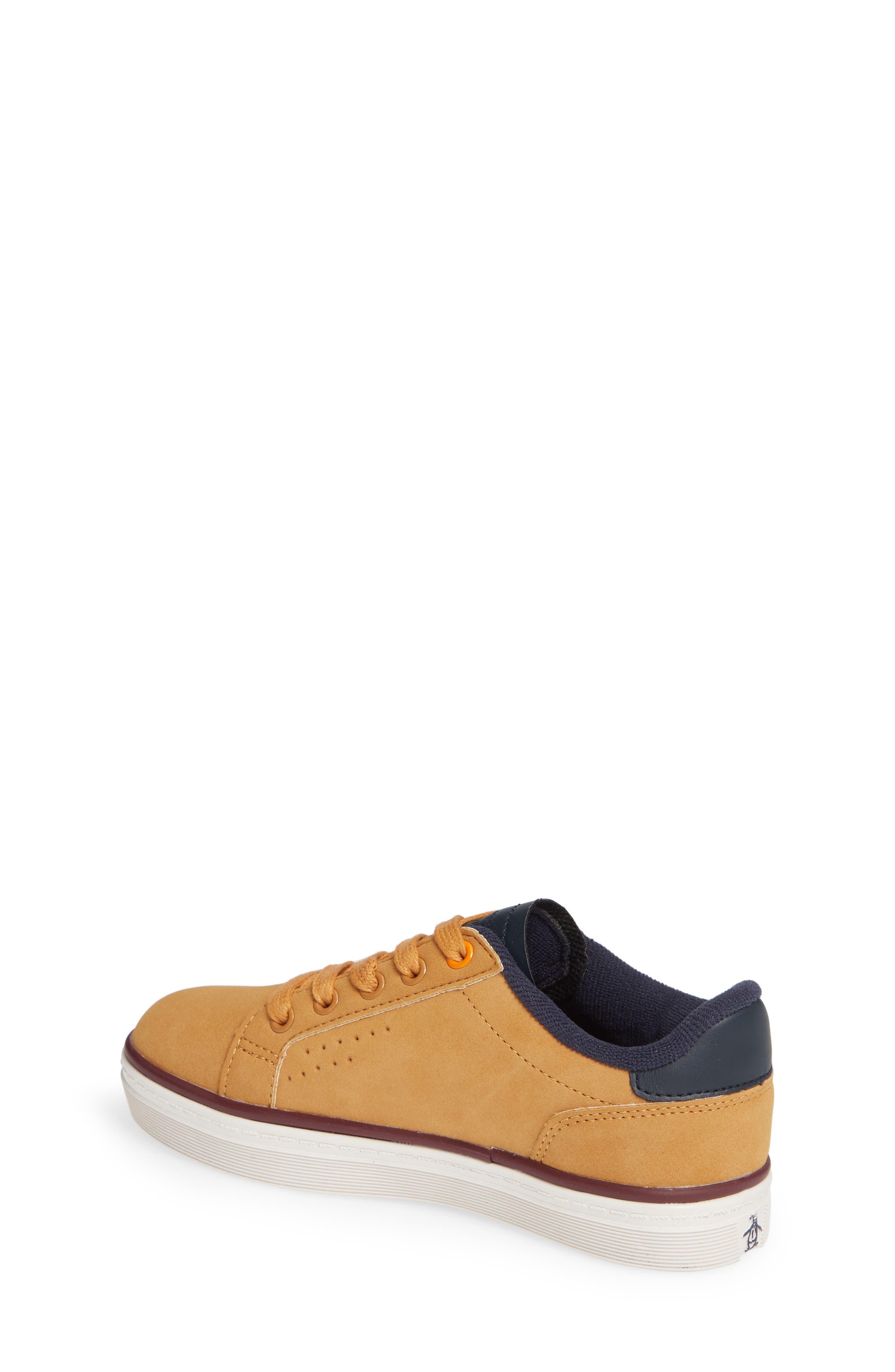 ORIGINAL PENGUIN,                             Dexter Sneaker,                             Alternate thumbnail 2, color,                             WHEAT/ NAVY