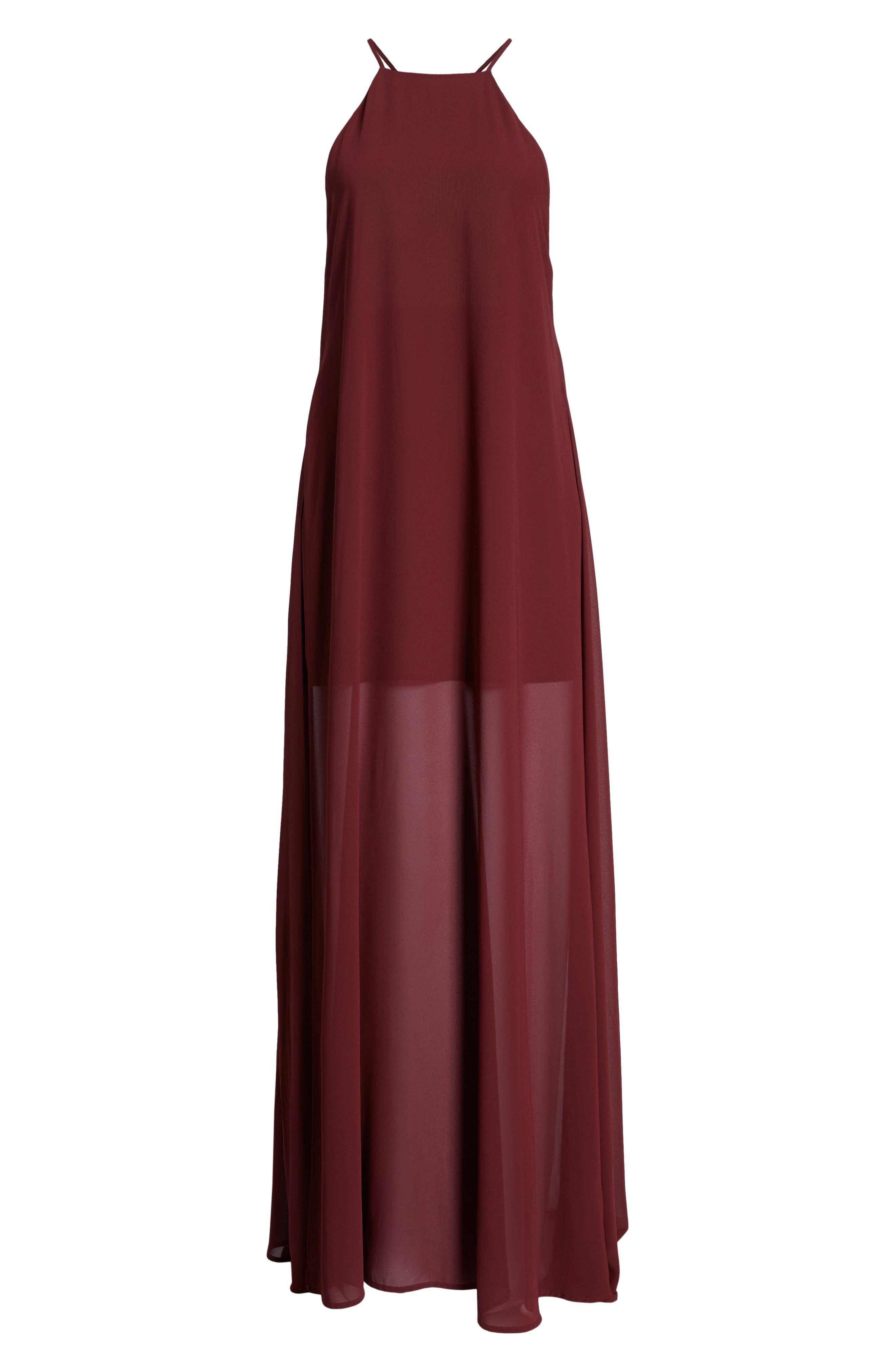 Bronte Maxi Dress,                             Alternate thumbnail 18, color,