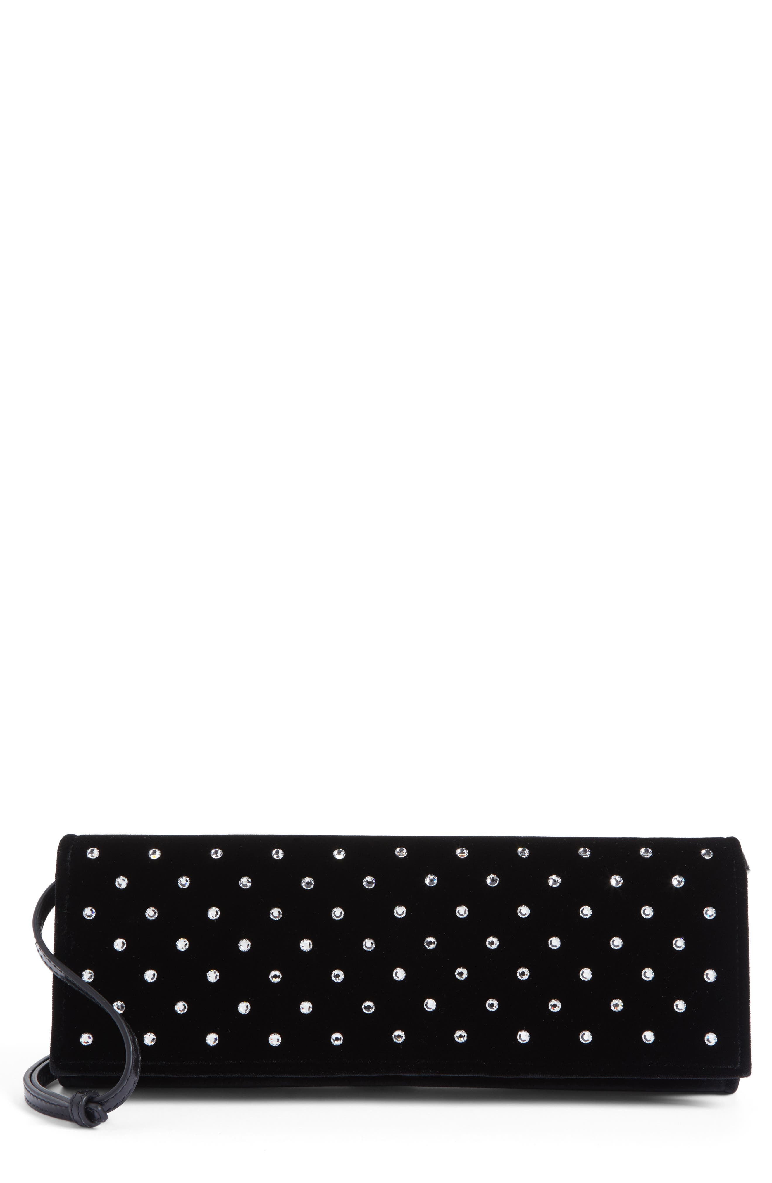 Fetiche Crystal Embellished Clutch,                             Main thumbnail 1, color,                             007
