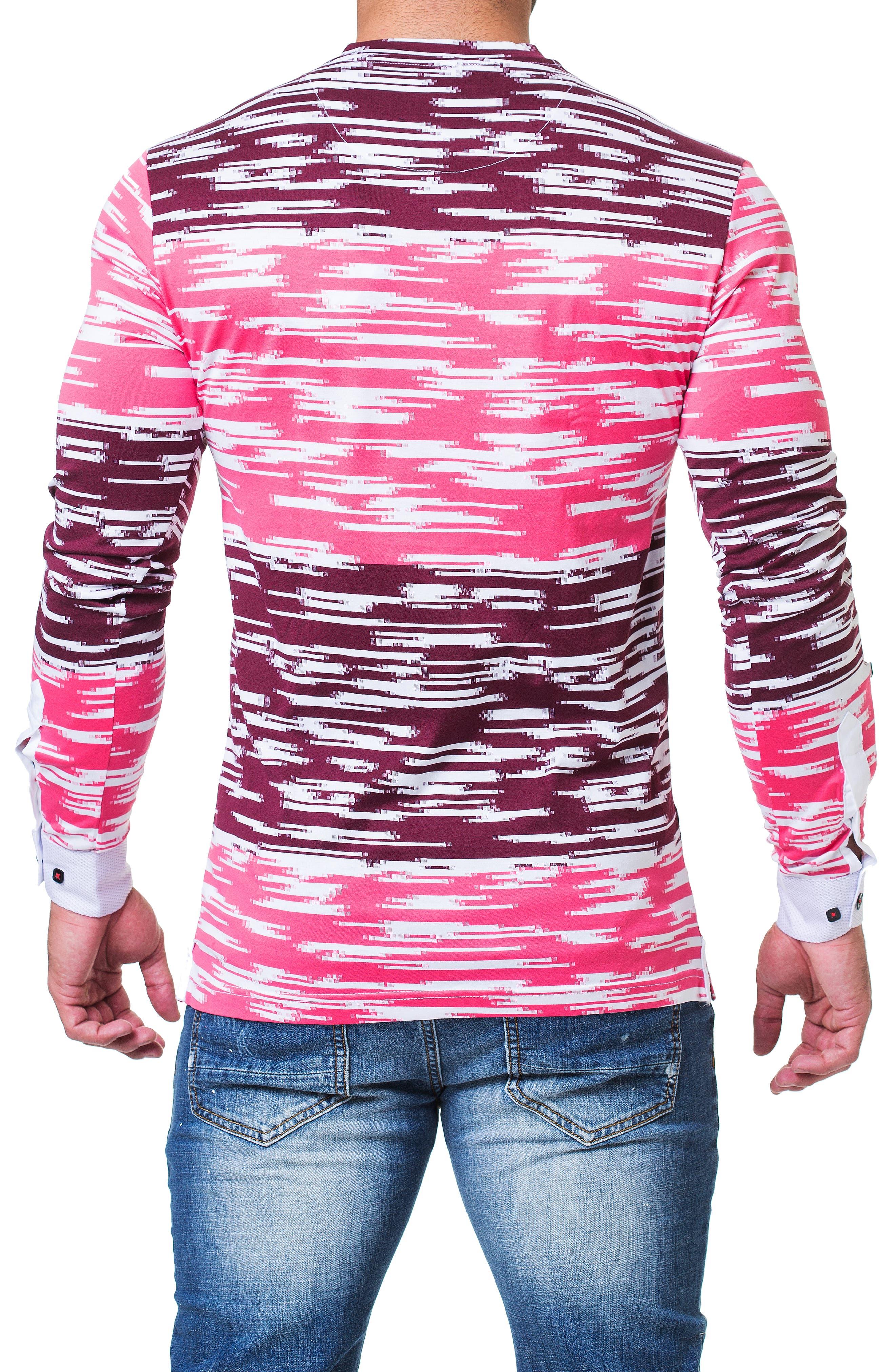 Edison Trim Fit Print T-Shirt,                             Alternate thumbnail 2, color,                             BLACK