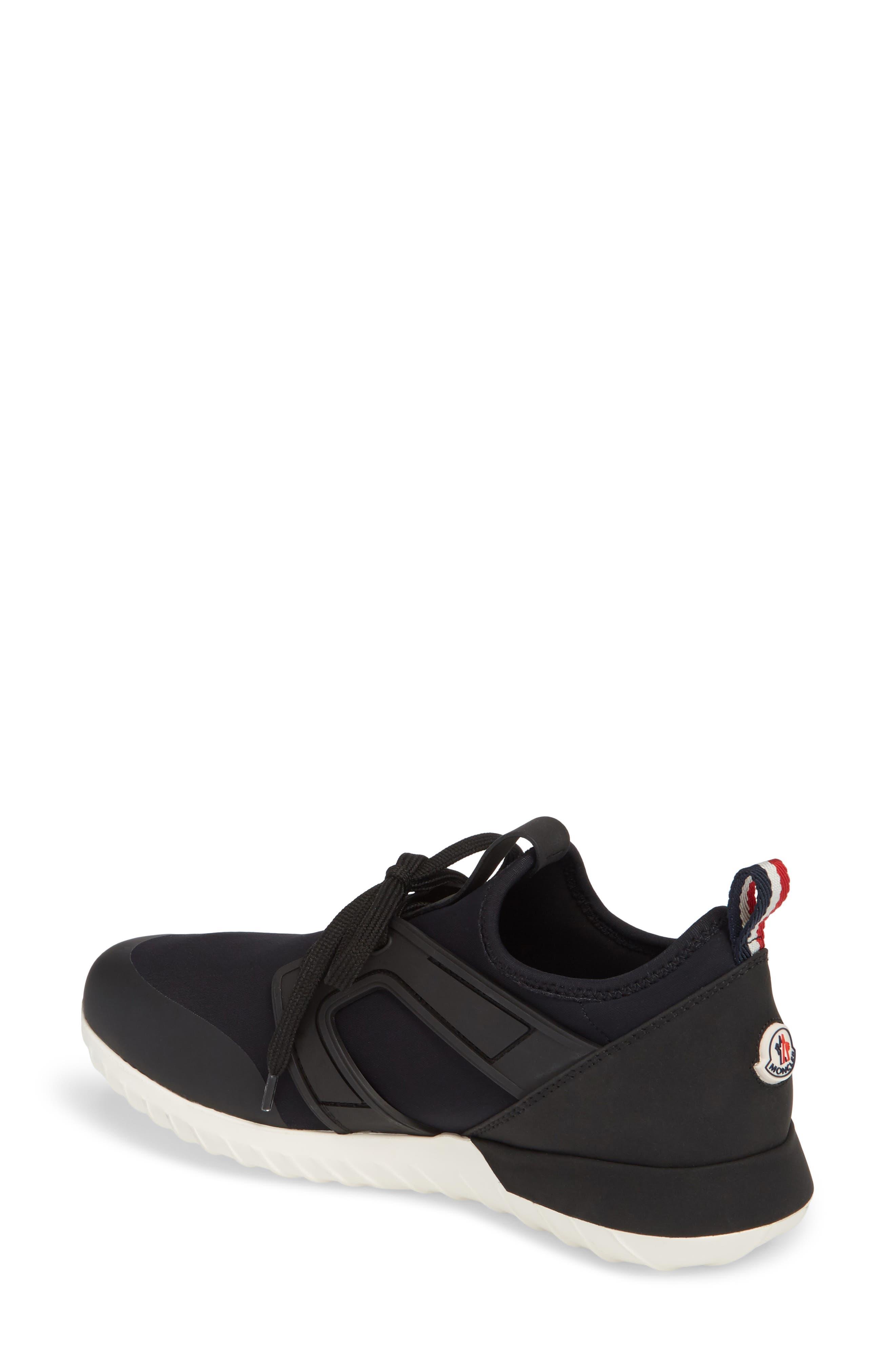 Meline Lace-Up Sneaker,                             Alternate thumbnail 2, color,                             001