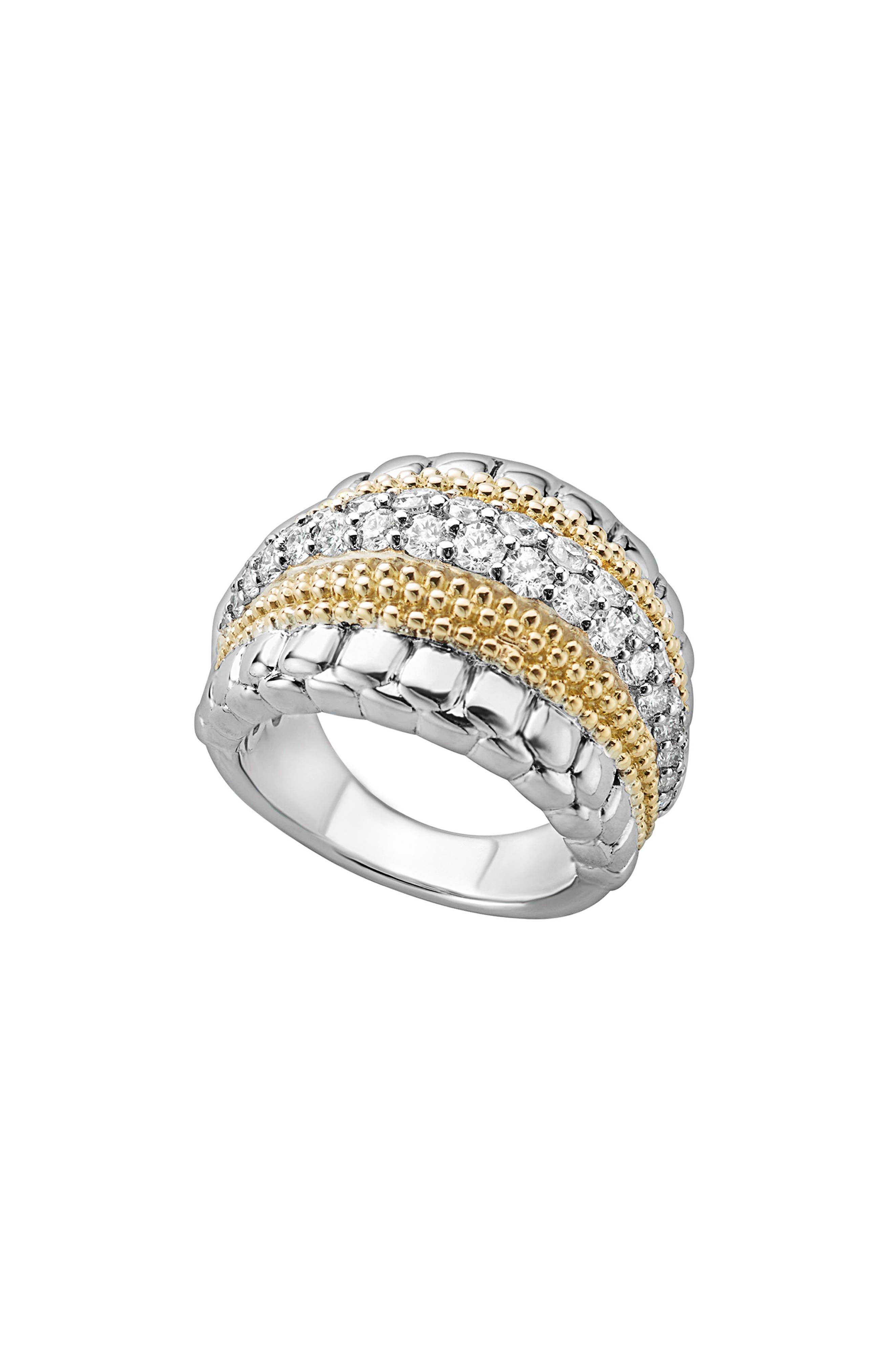 Diamond Lux Ring,                         Main,                         color, DIAMOND