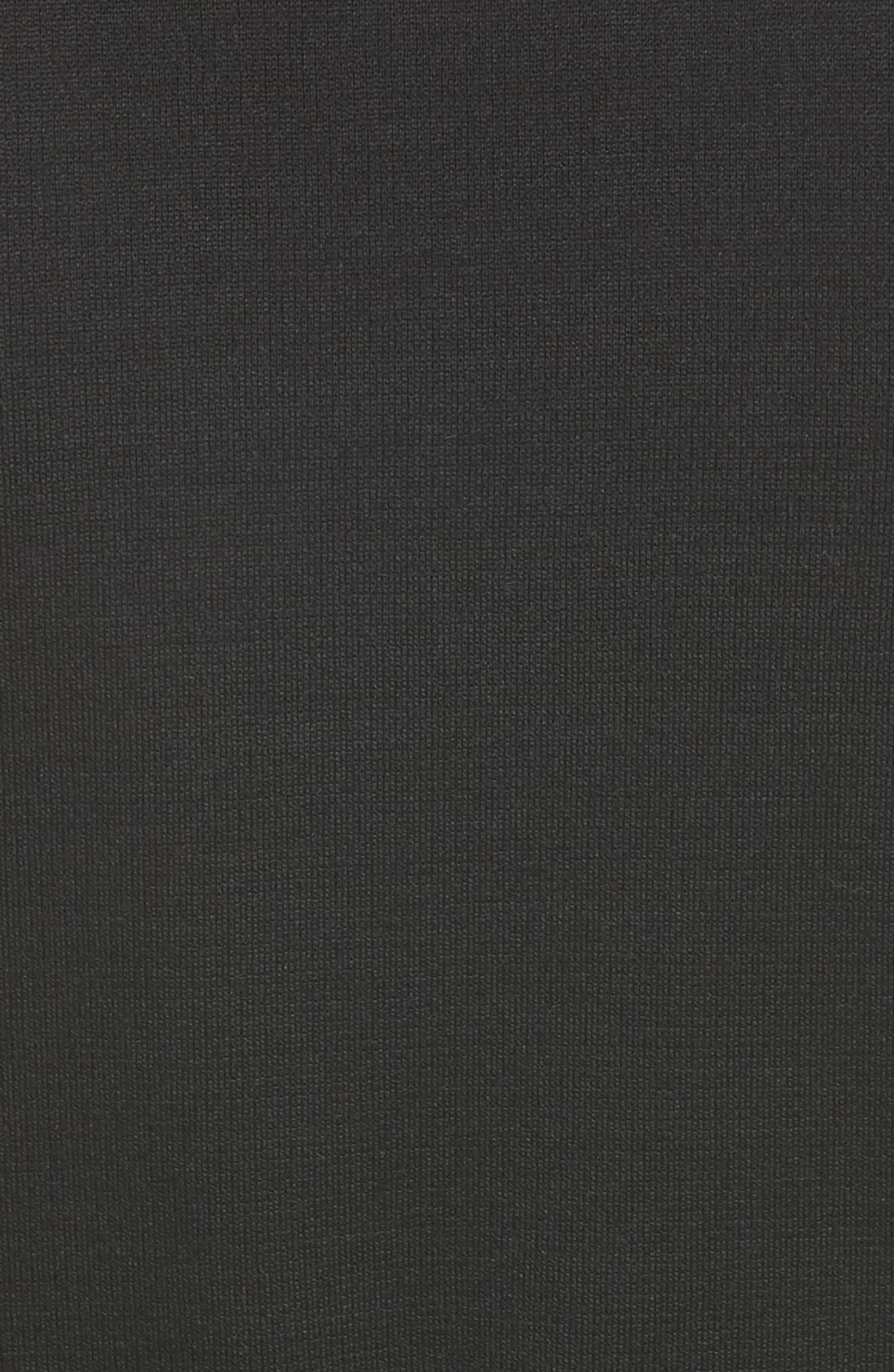 Milano Knit A-Line Vest,                             Alternate thumbnail 6, color,                             001