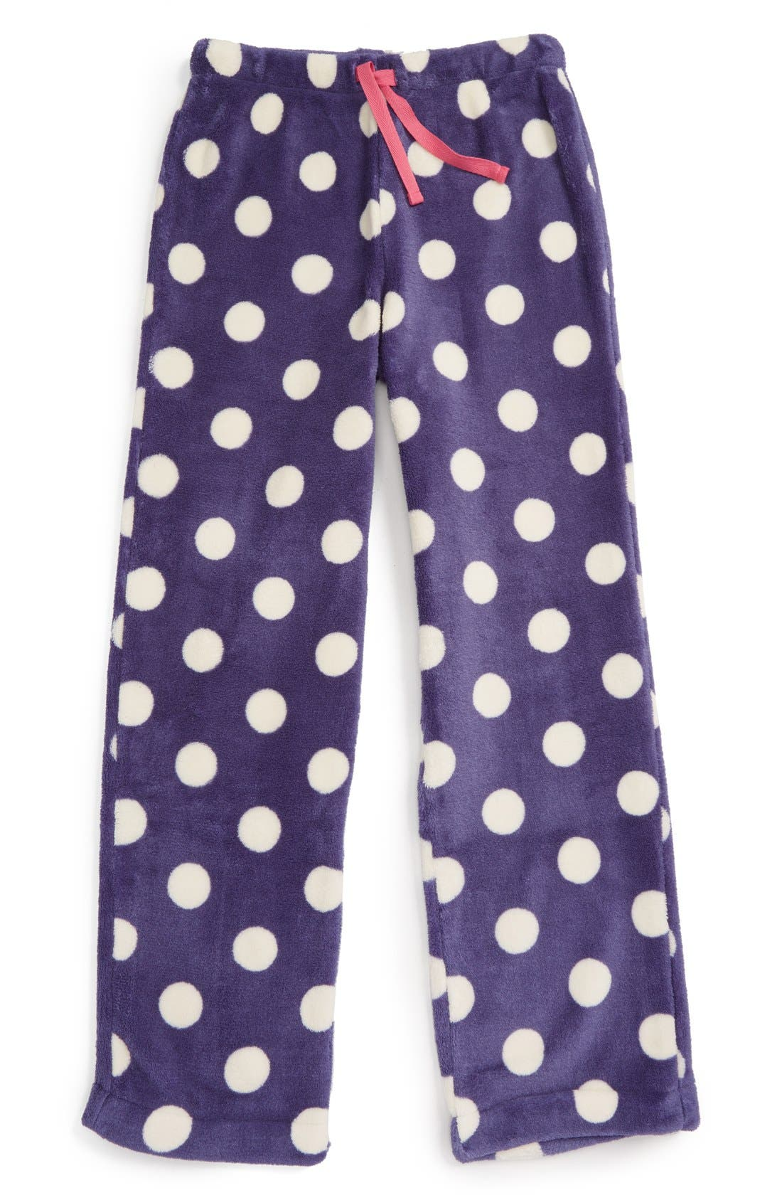 Fleece Pajama Pants,                             Main thumbnail 4, color,