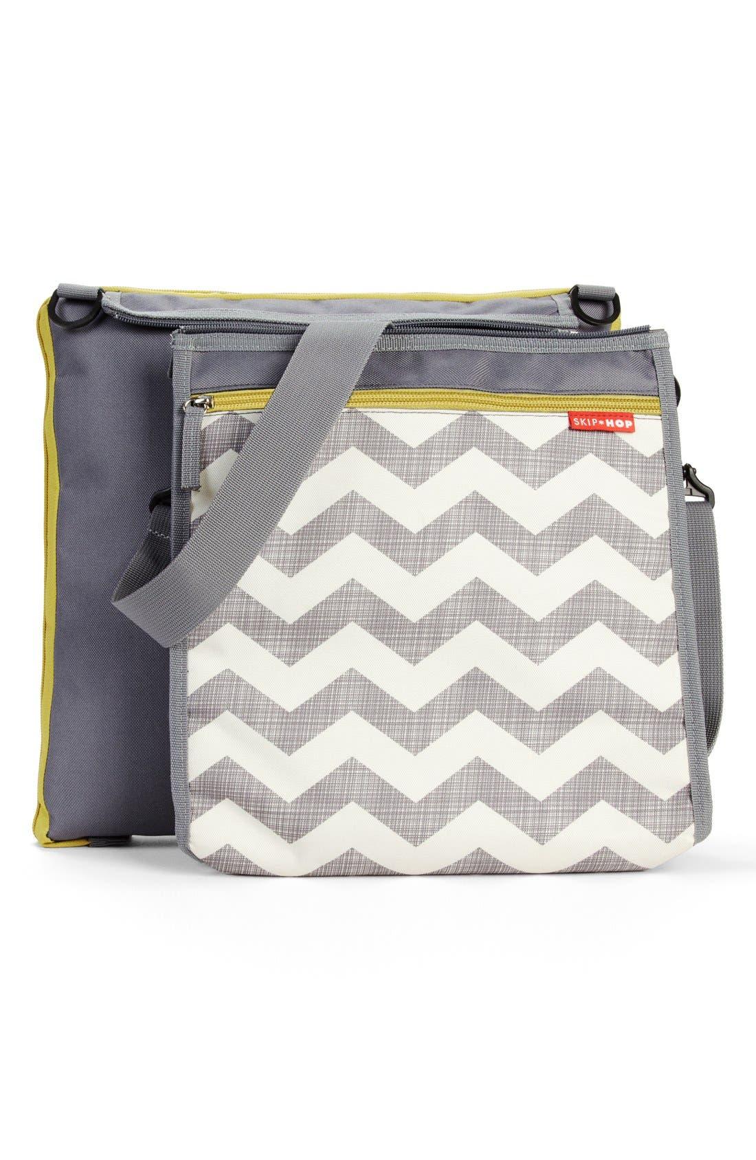 'Central Park' Outdoor Blanket & Cooler Bag,                             Main thumbnail 1, color,                             020