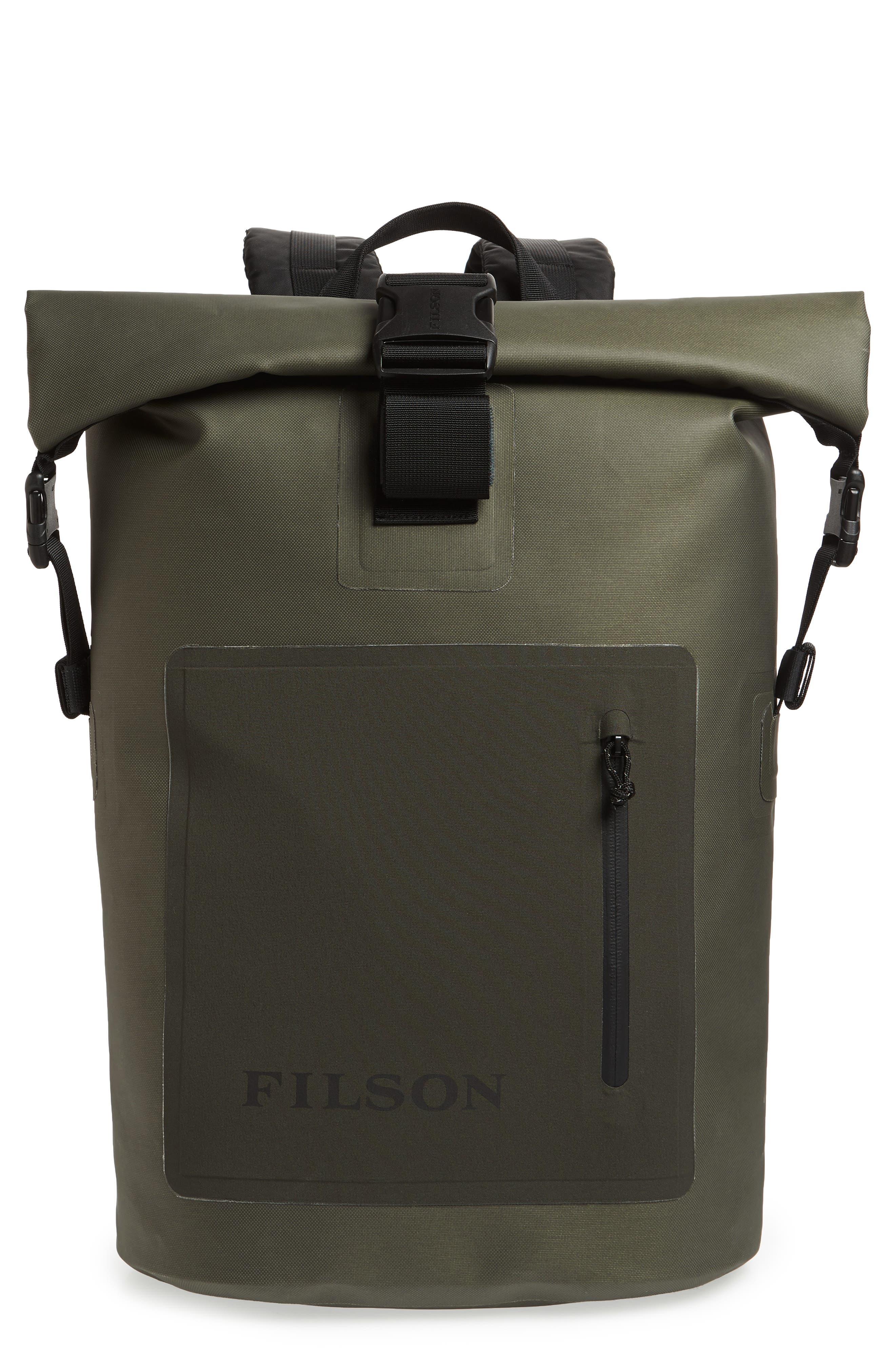 Dry Waterproof Backpack,                             Main thumbnail 1, color,                             GREEN