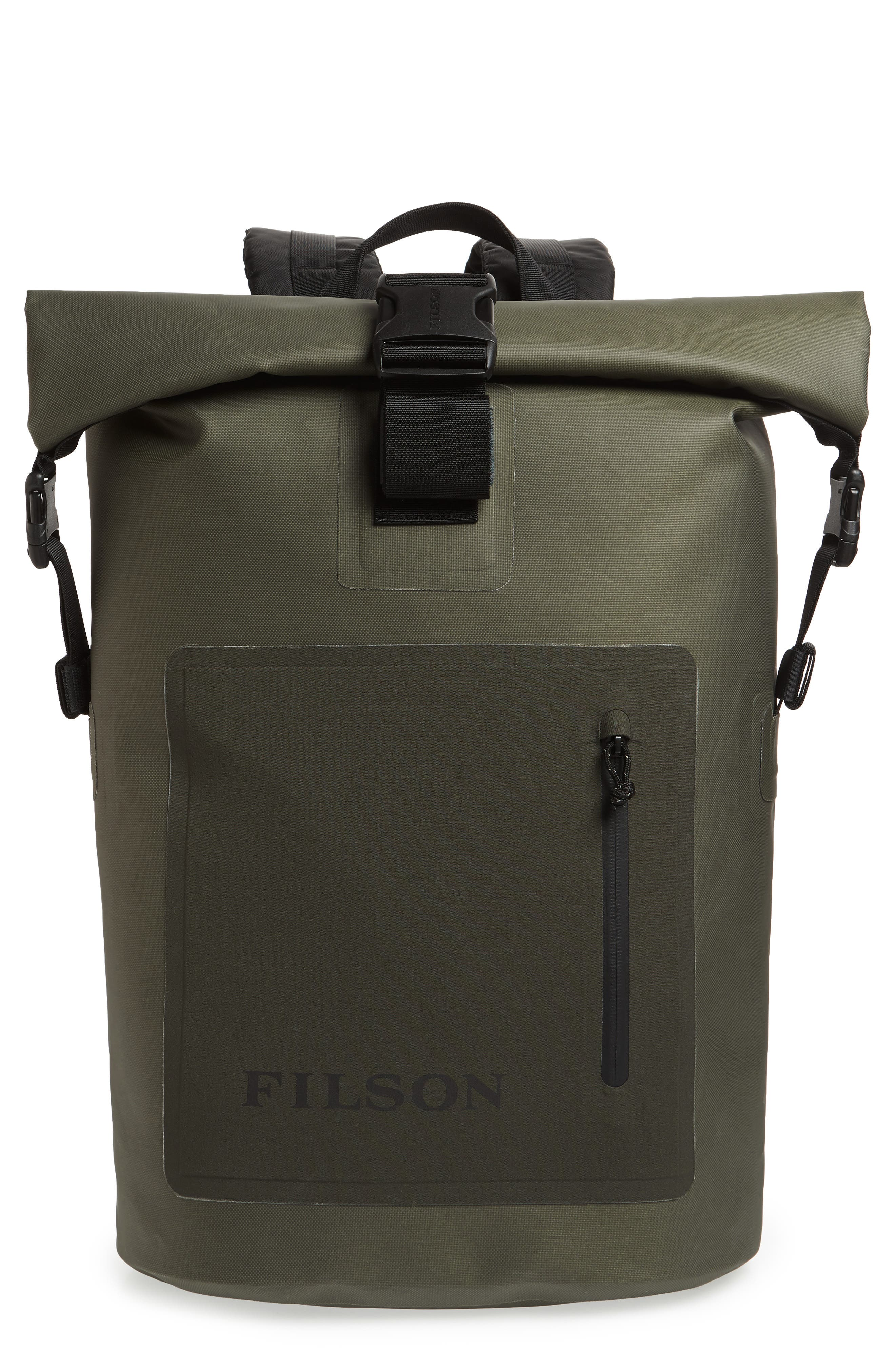 FILSON Dry Waterproof Backpack - Green
