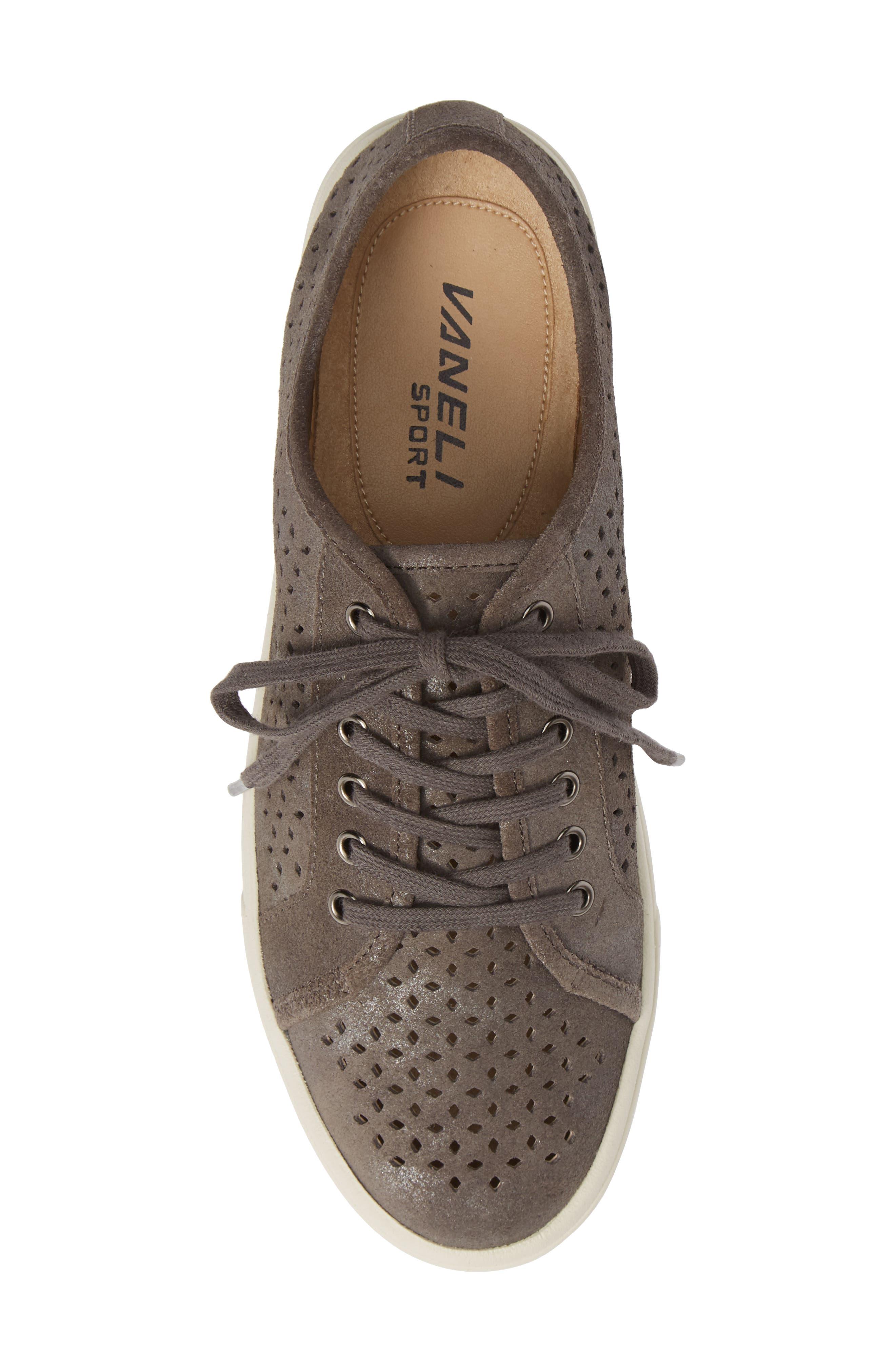 Oneida Sneaker,                             Alternate thumbnail 5, color,                             GREY SUEDE