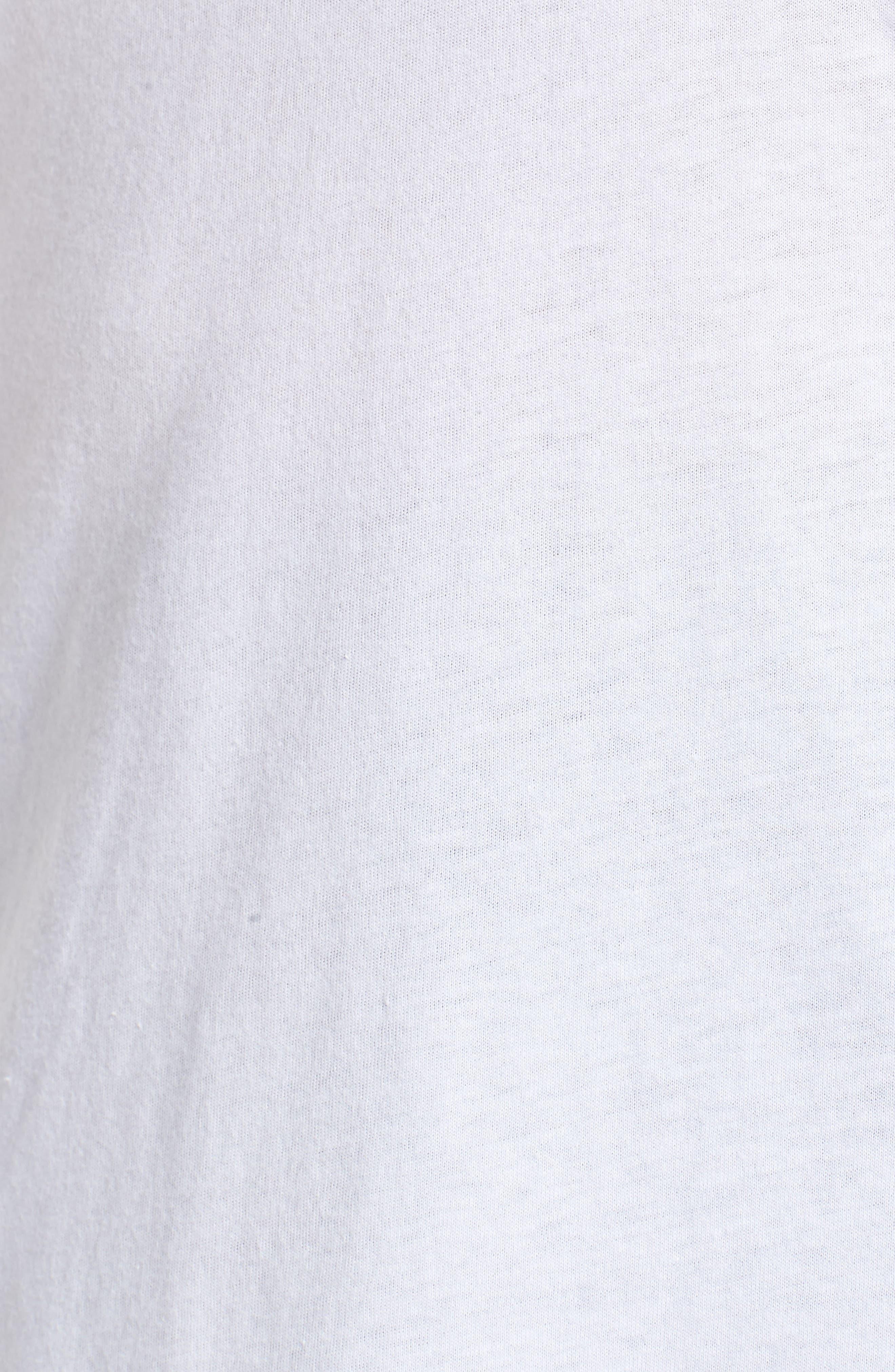 Varsity Stripe Tee,                             Alternate thumbnail 12, color,                             WHITE- RED BAROQUE COMBO