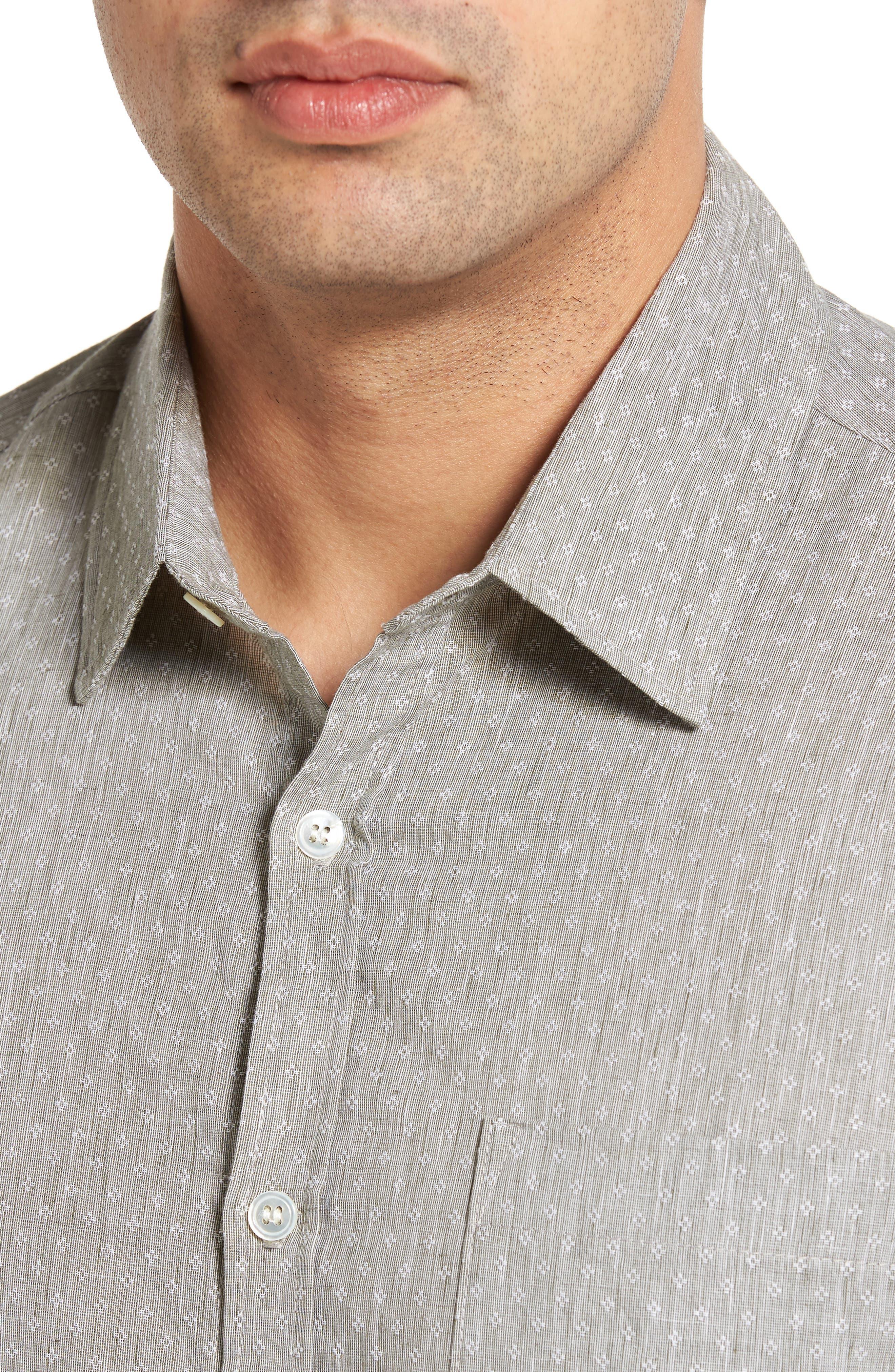 Classic Fit Sport Shirt,                             Alternate thumbnail 4, color,                             310