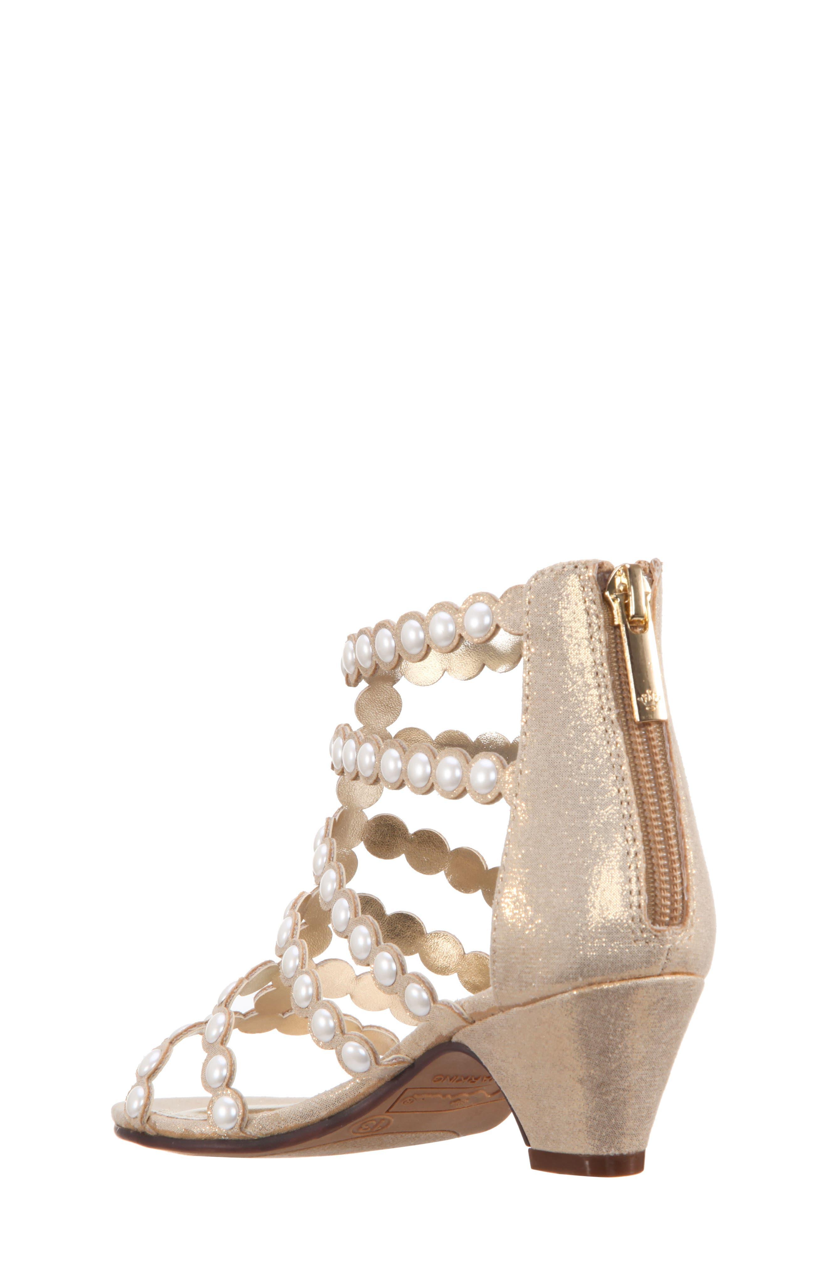 Princess-P Shimmer Sandal,                             Alternate thumbnail 6, color,